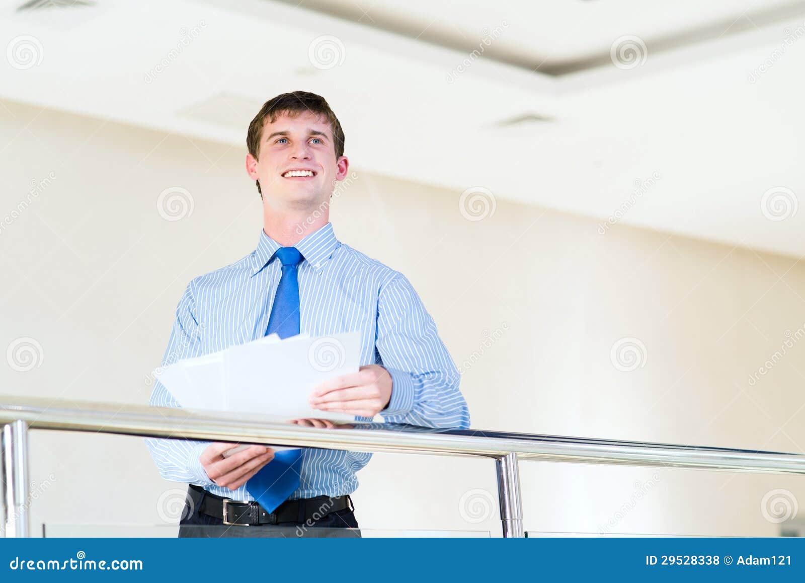 Retrato de um homem de negócios