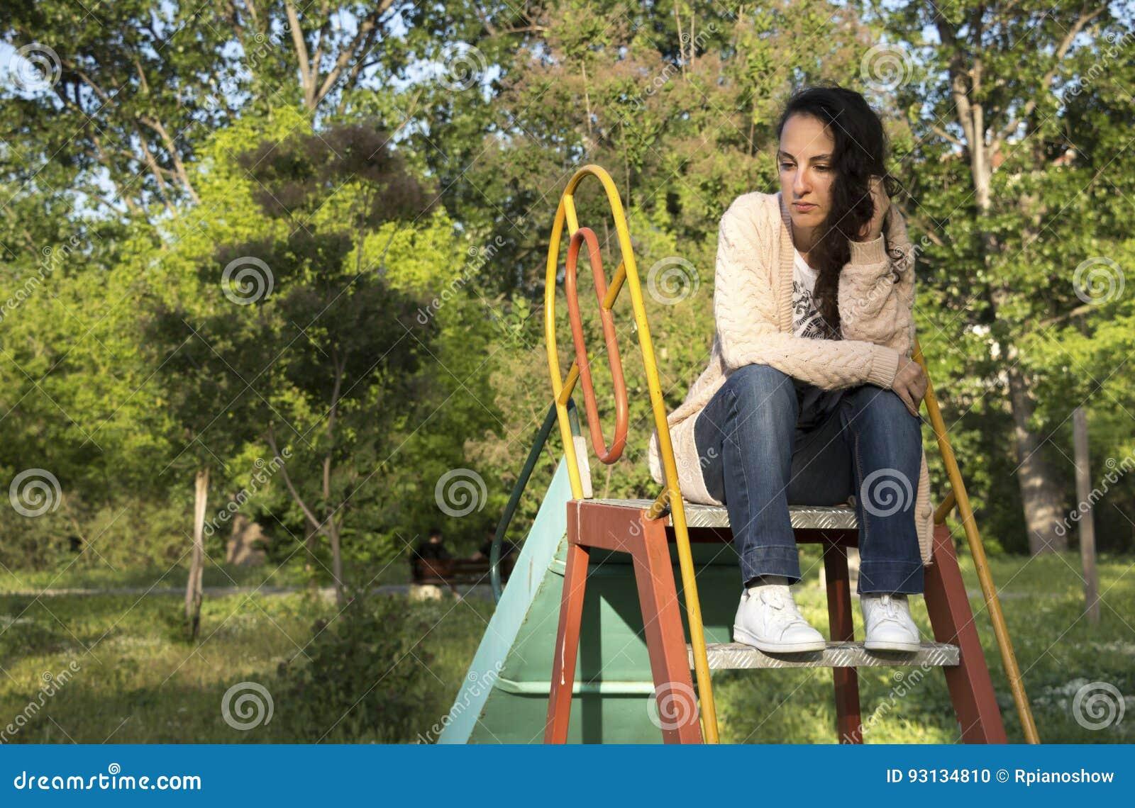Retrato de uma jovem mulher