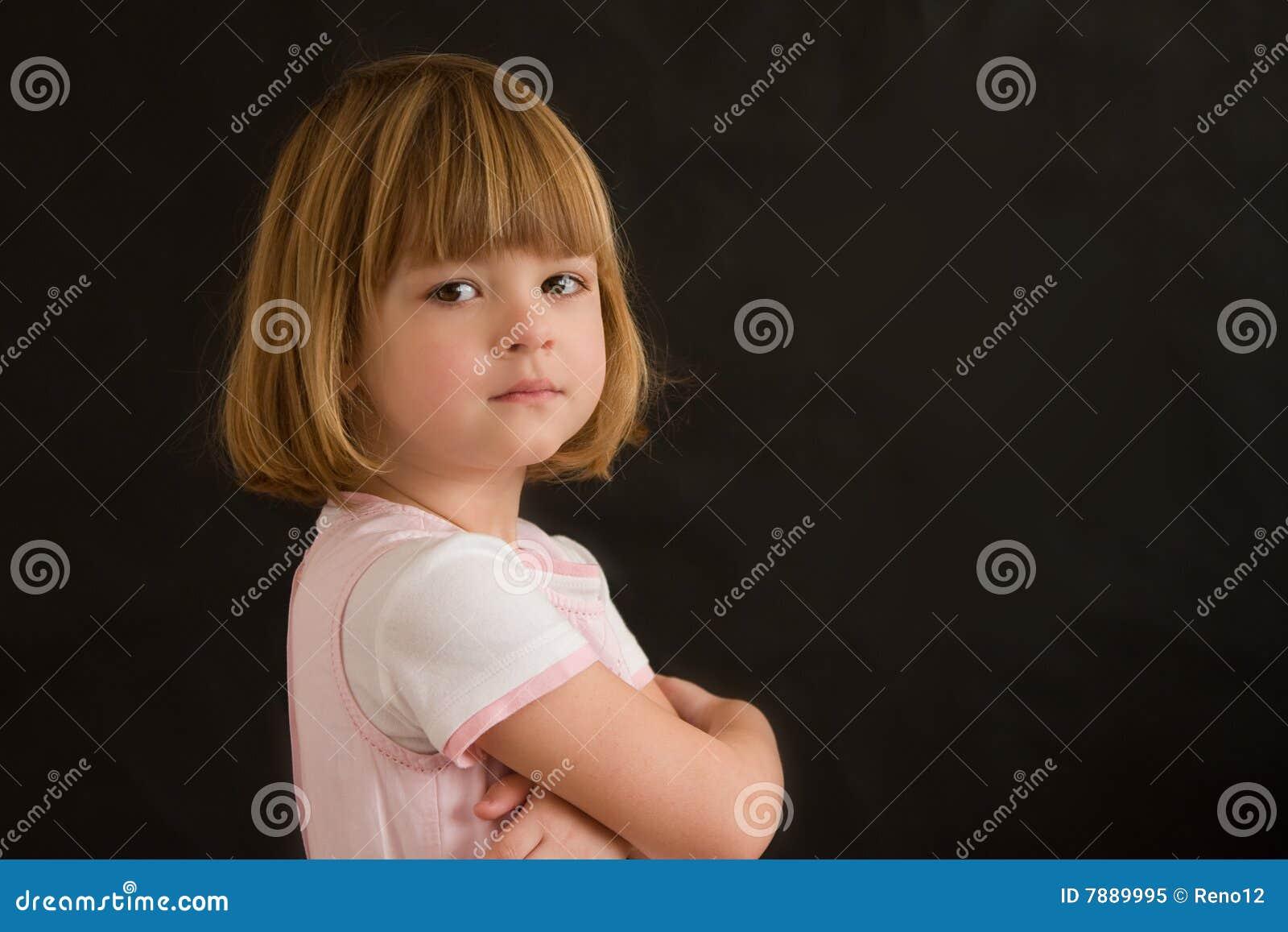Retrato de uma menina
