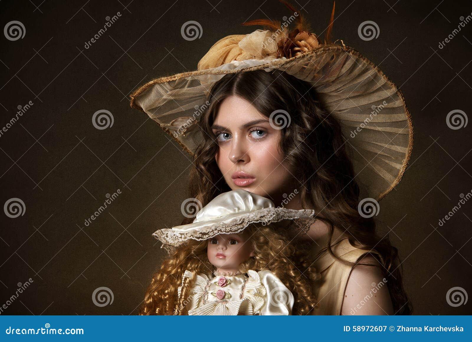 Retrato de un gir joven