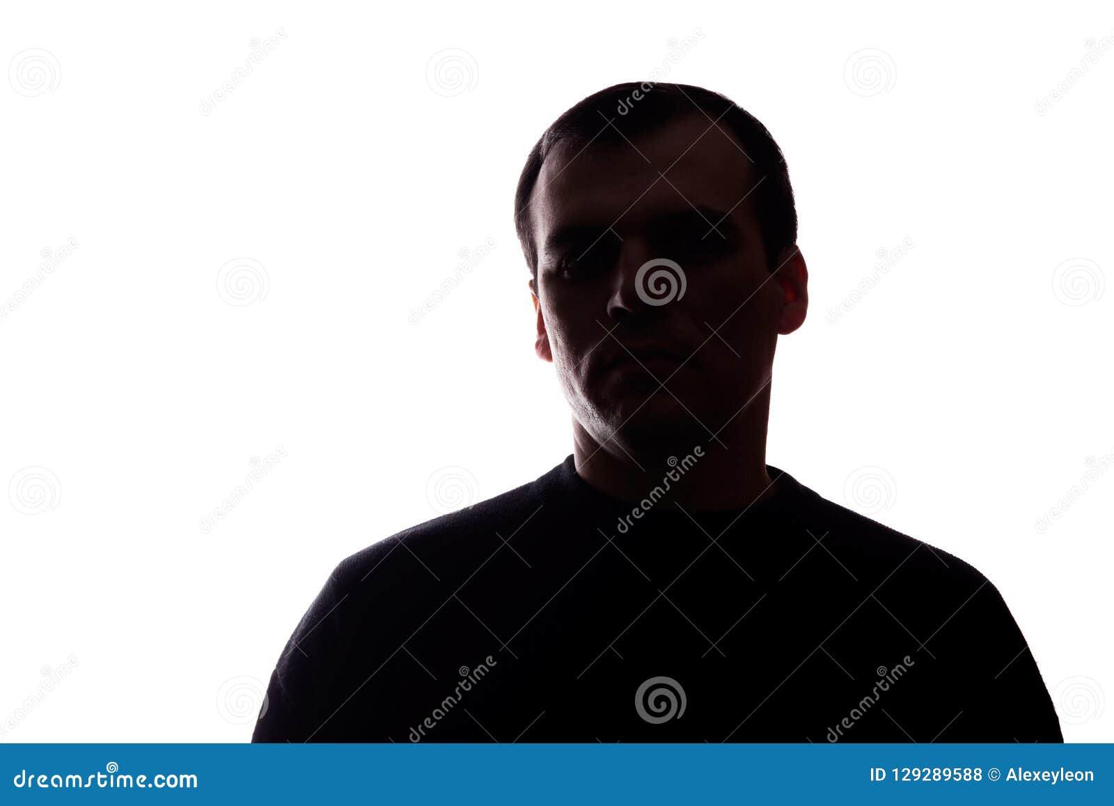 Retrato de un hombre joven, vista delantera