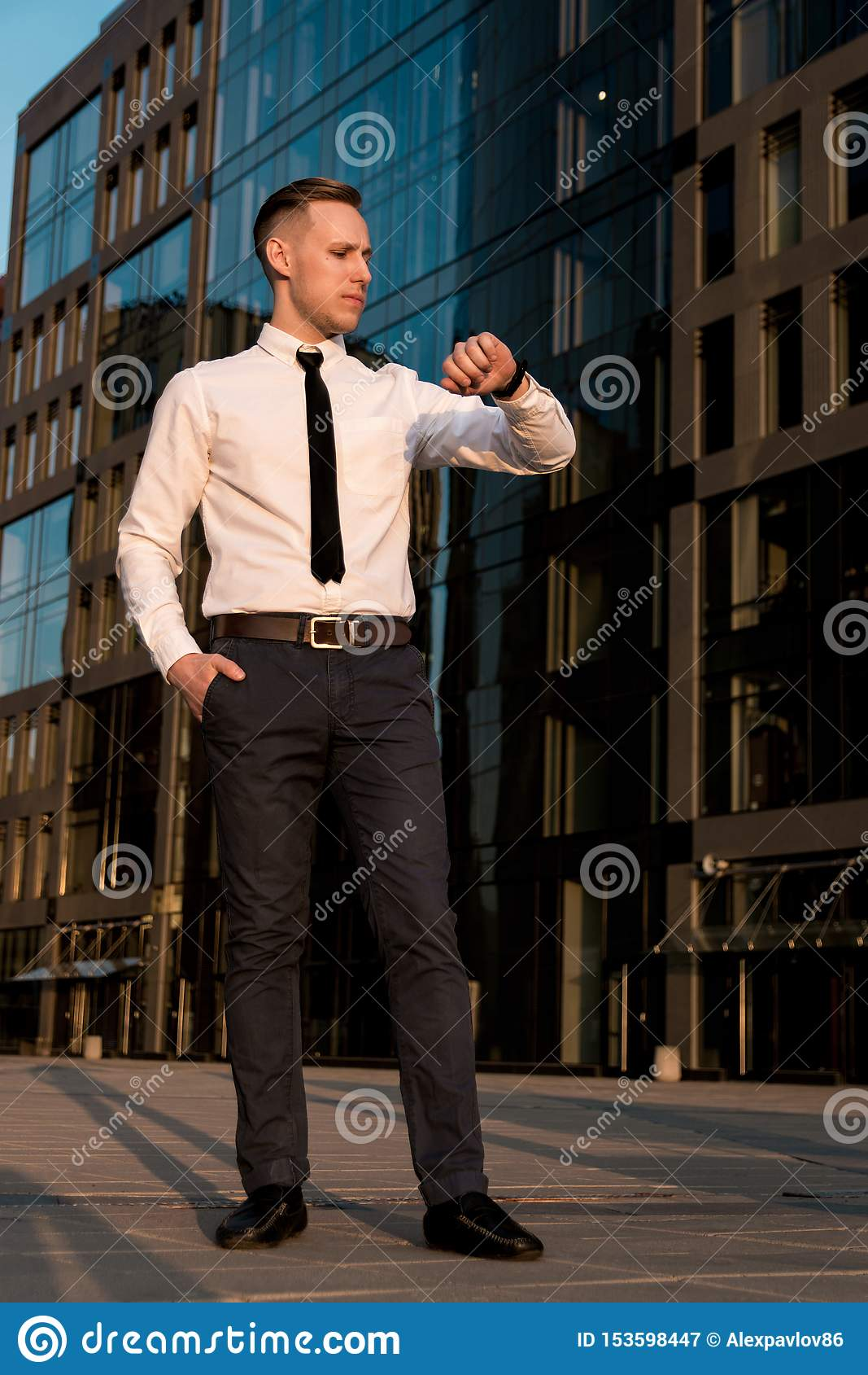 Retrato de un hombre de negocios