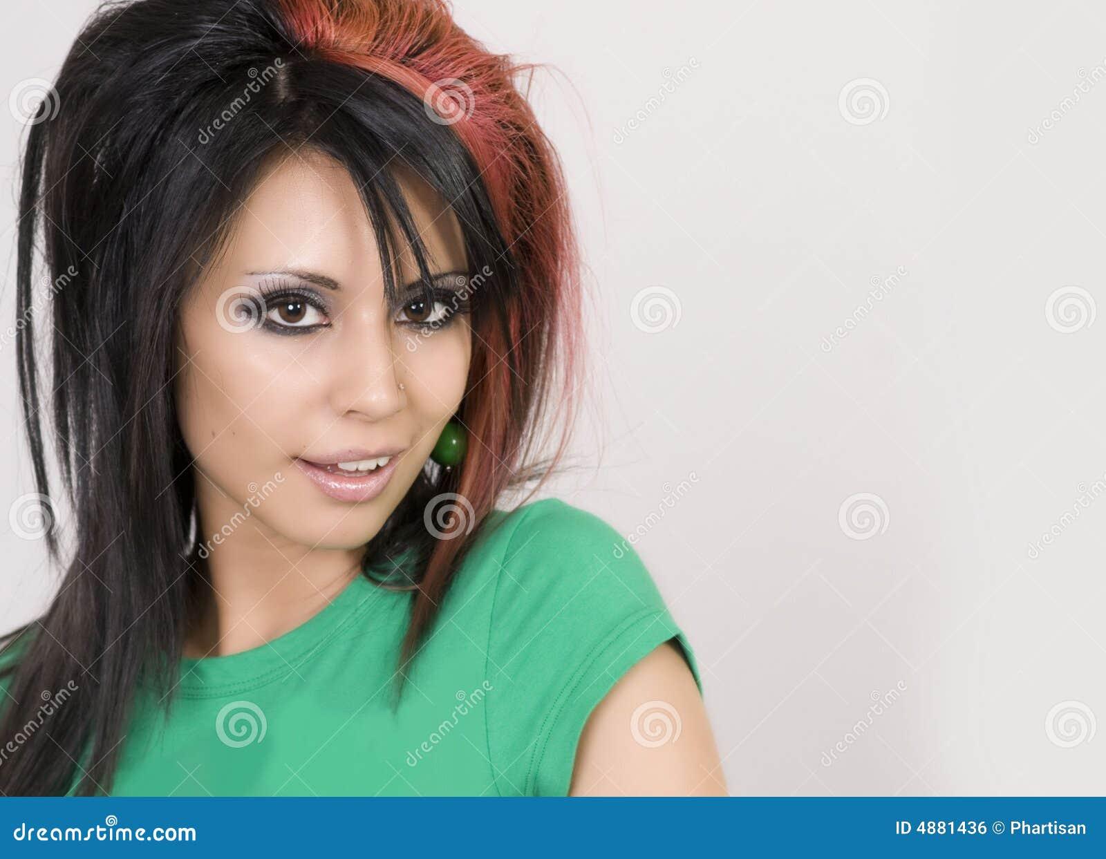 Retrato de una mujer bastante joven