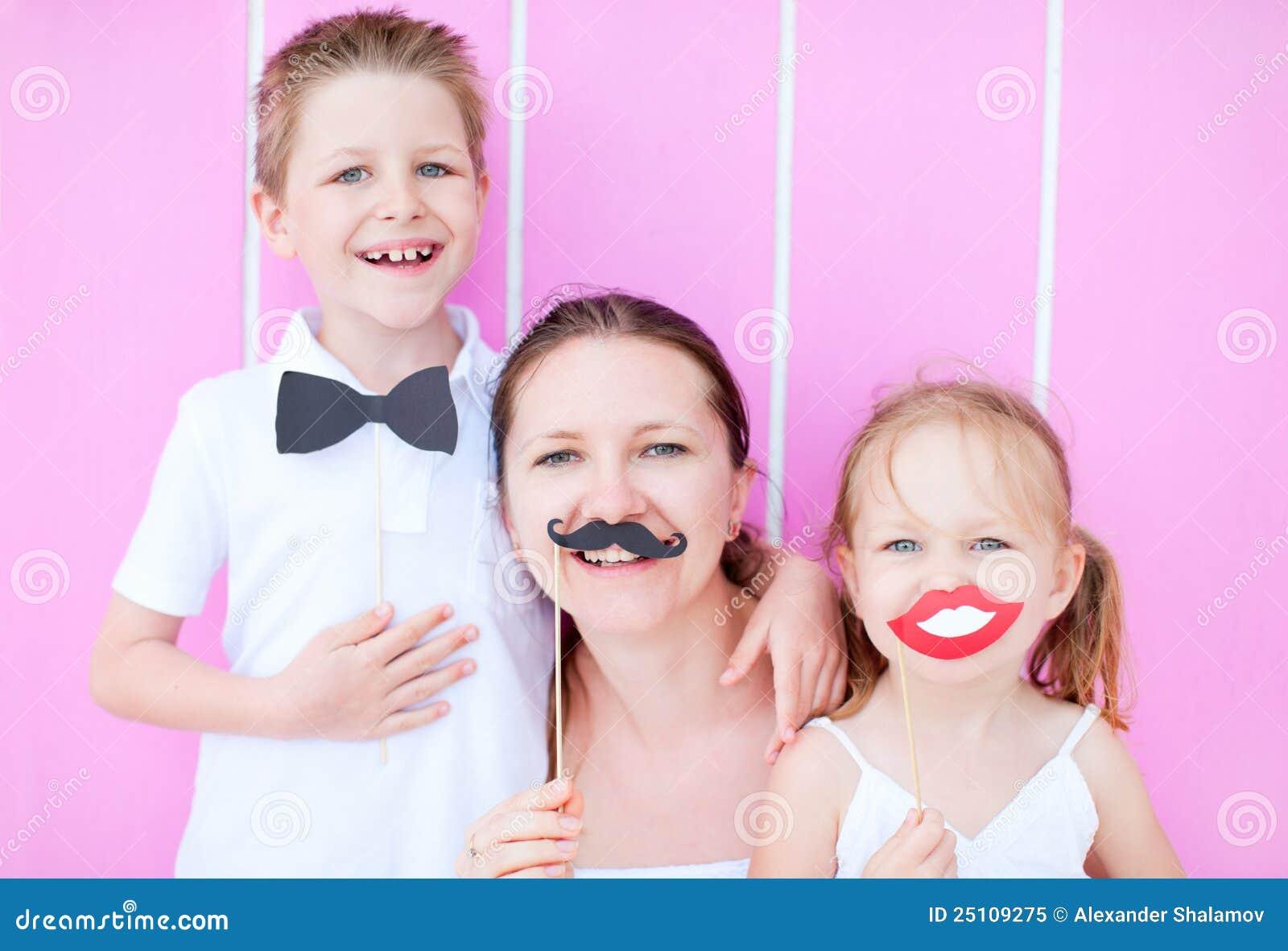 Retrato del partido de la familia