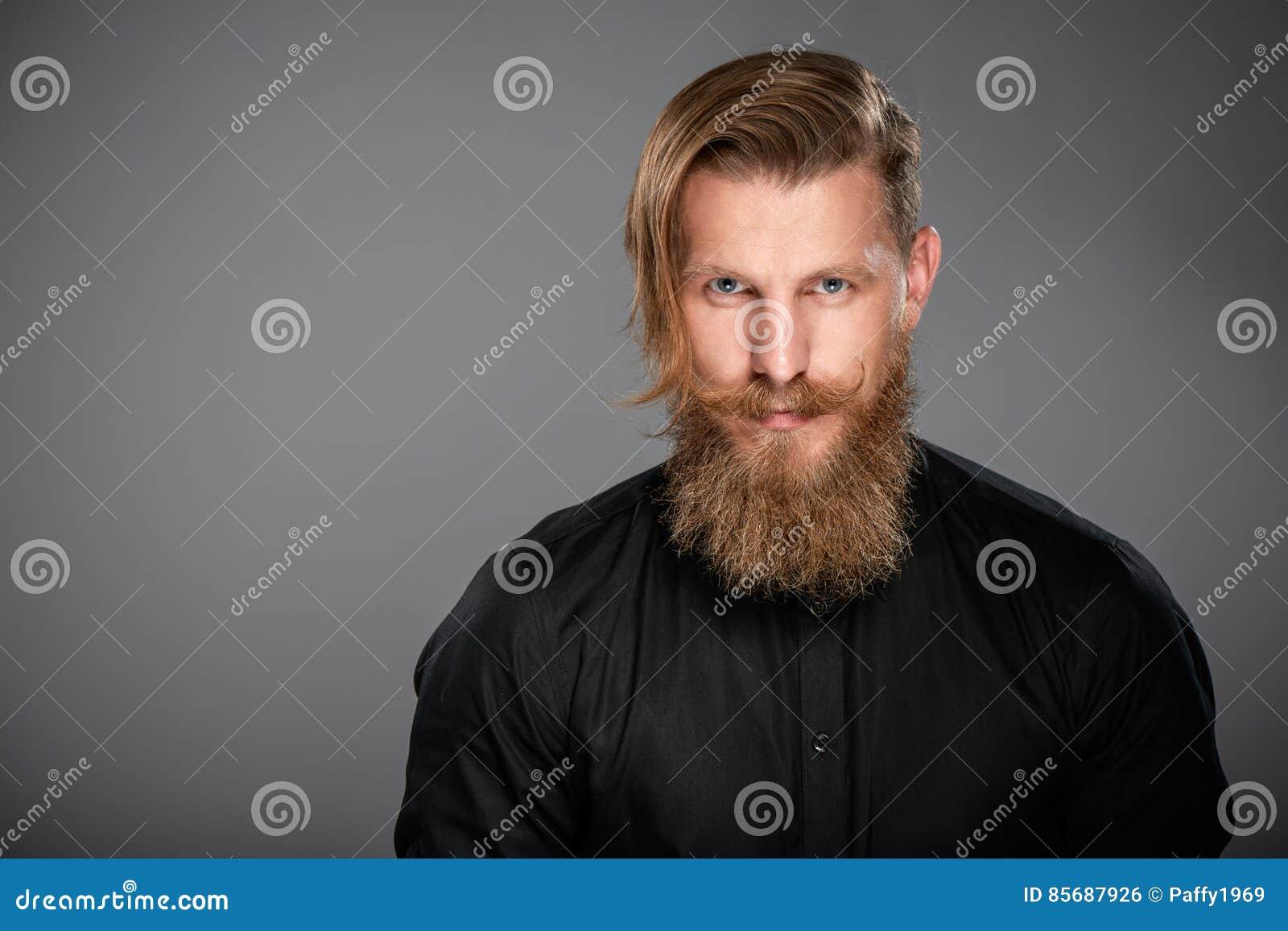 Retrato del primer del hombre del inconformista