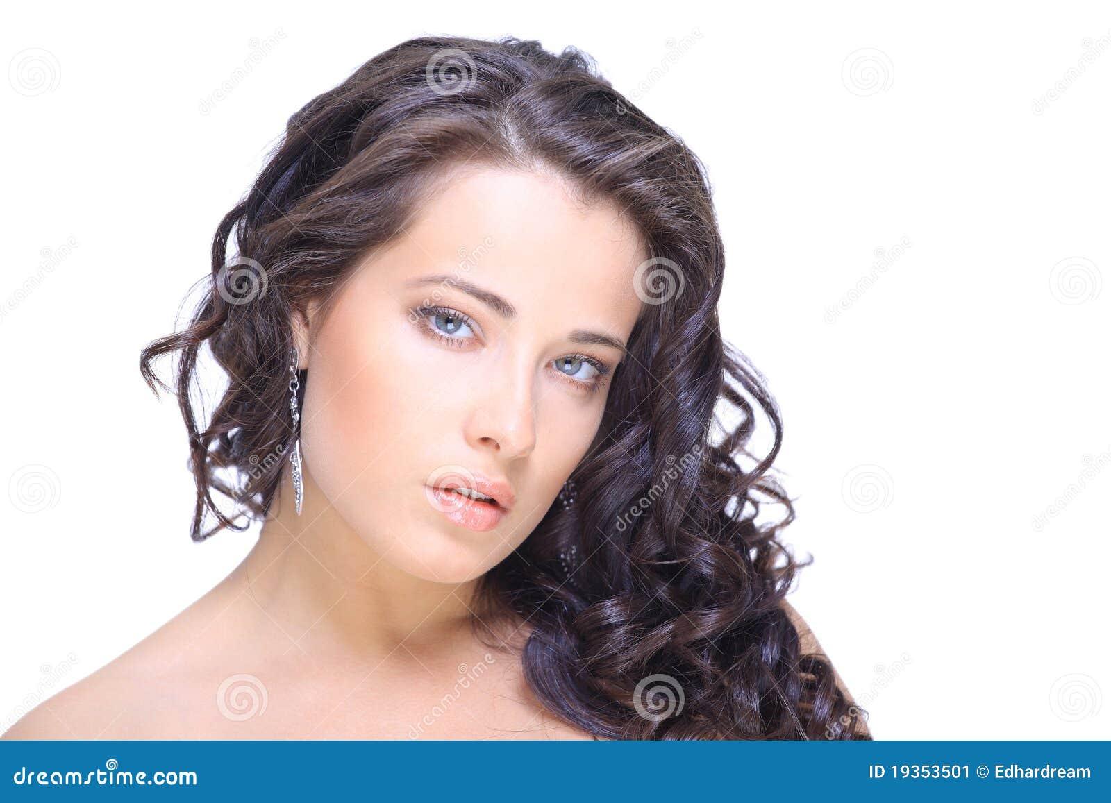 Retrato do Close-up do caucasian  sexy