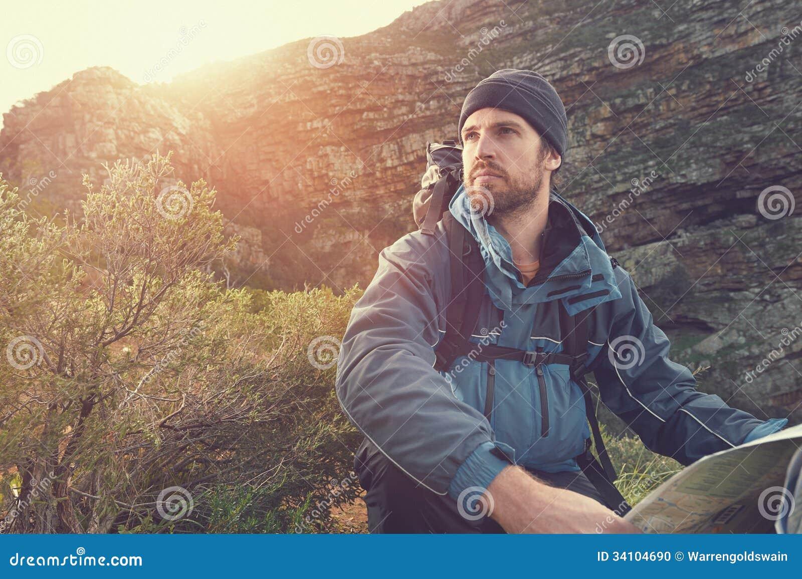 Retrato do homem da aventura