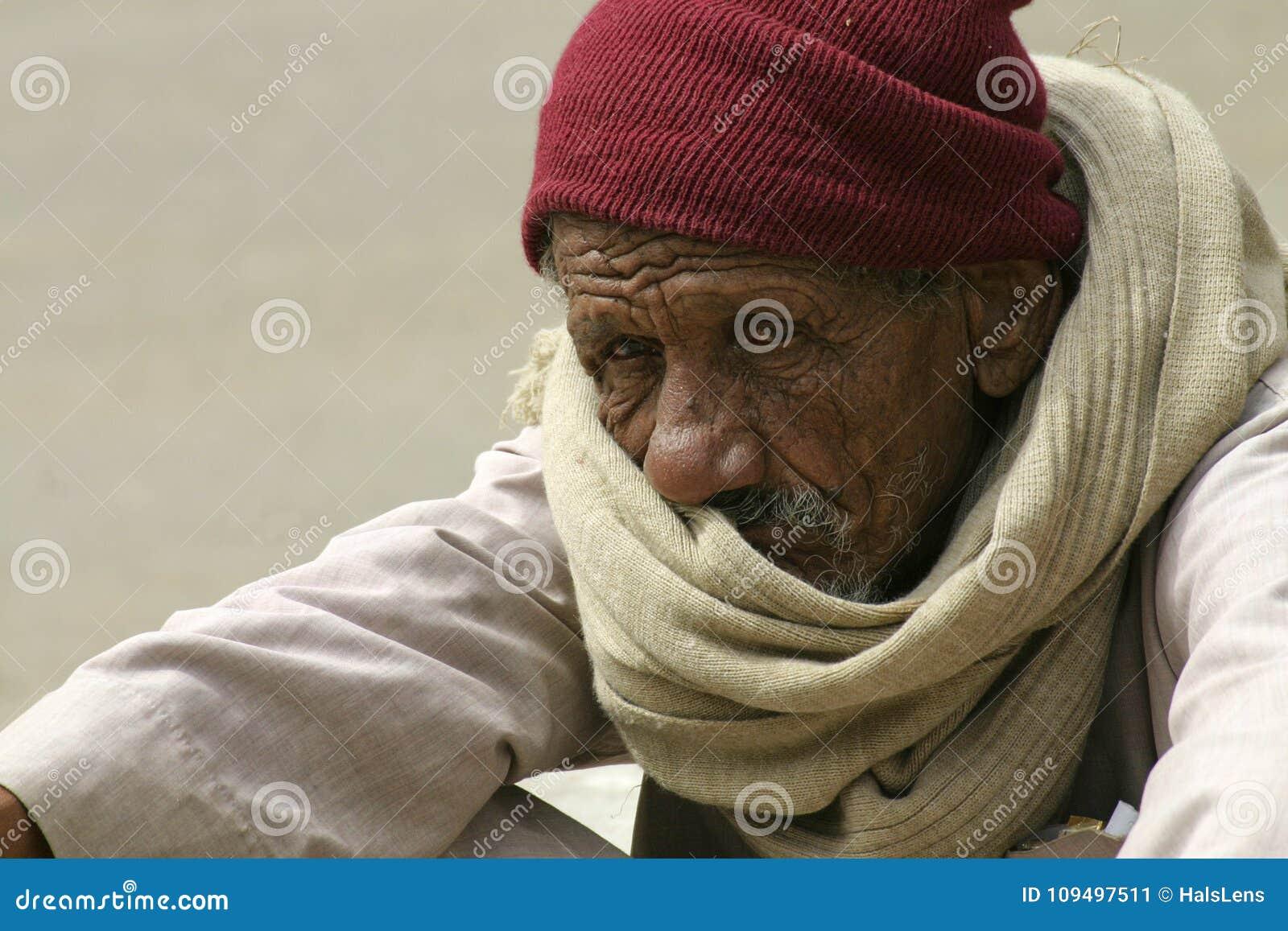 Retrato do homem idoso