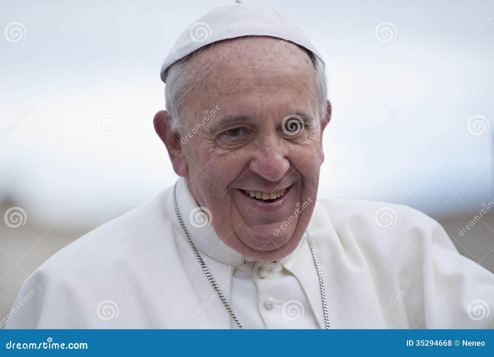 Retrato do papa Francis