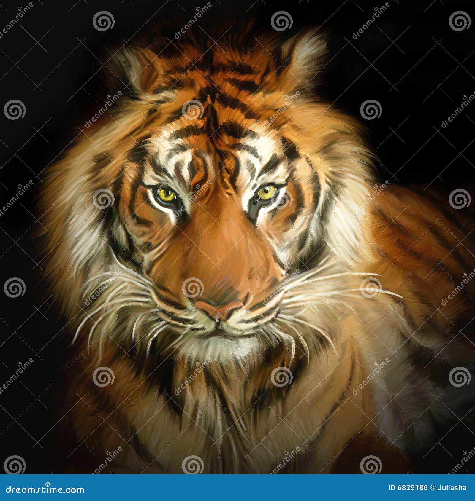 Retrato do tigre