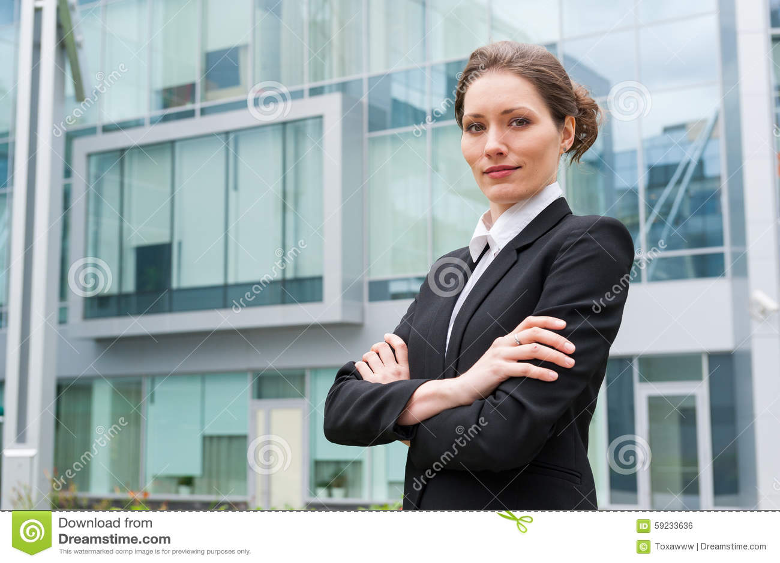 Download Retrato Joven De La Mujer De Negocios Foto de archivo - Imagen de éxito, acertado: 59233636