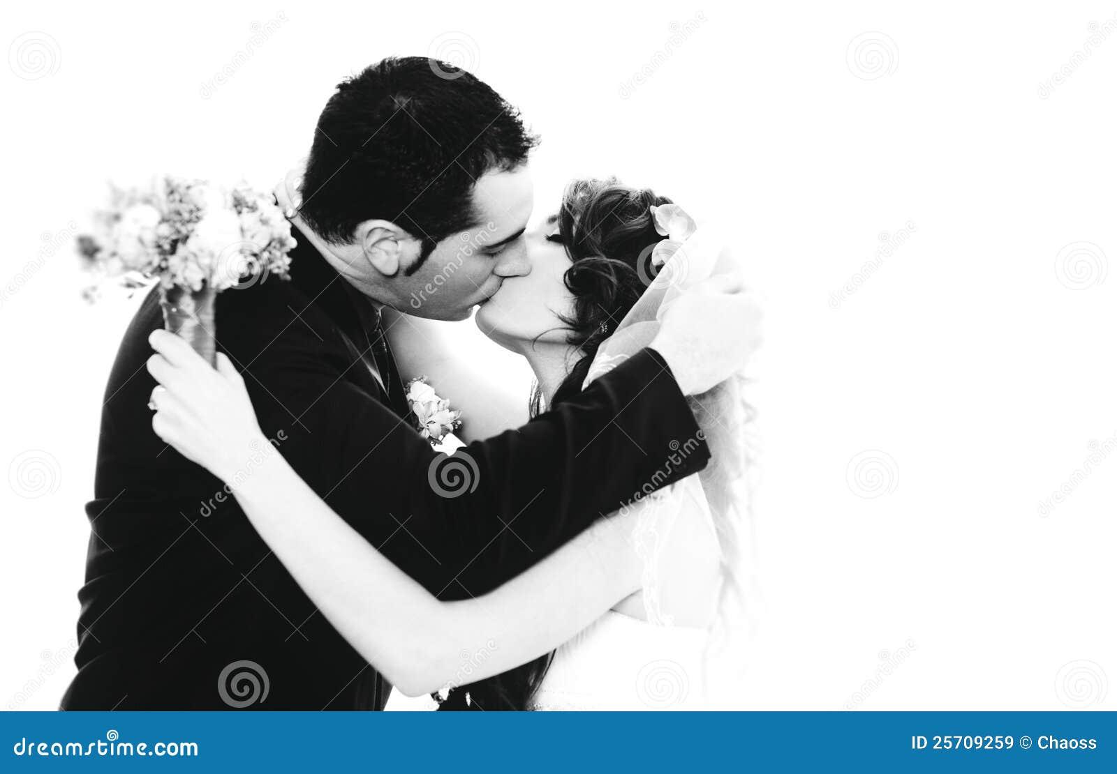 Retrato novo dos pares do casamento