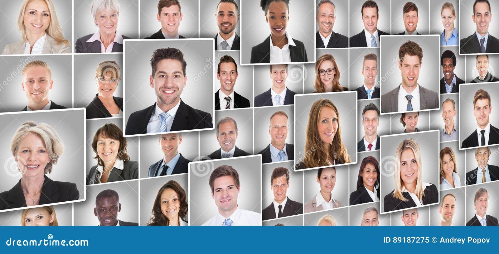 Retratos de empresarios
