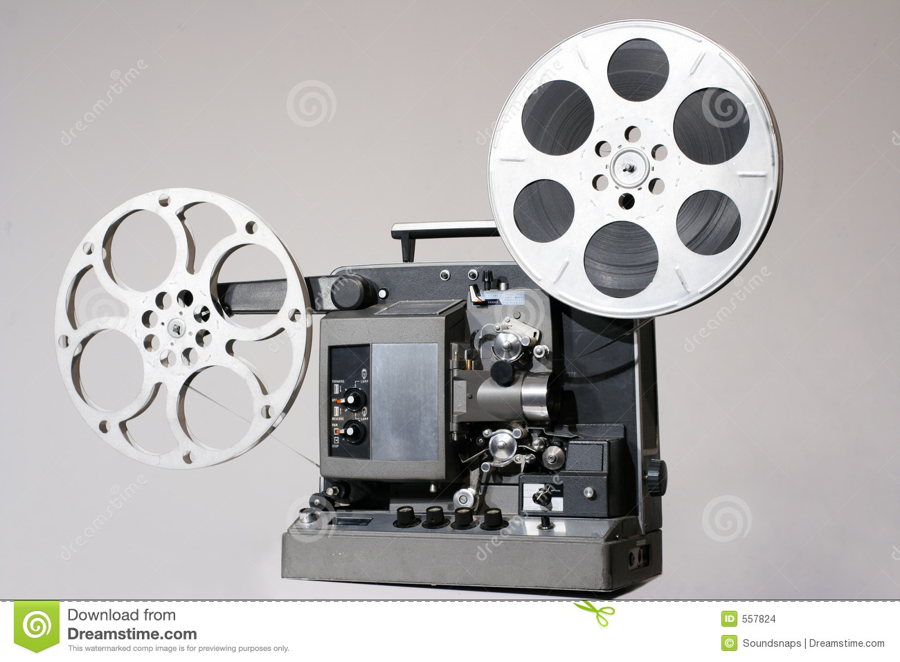 retro 16mm film projector stock photo image of projector 557824. Black Bedroom Furniture Sets. Home Design Ideas