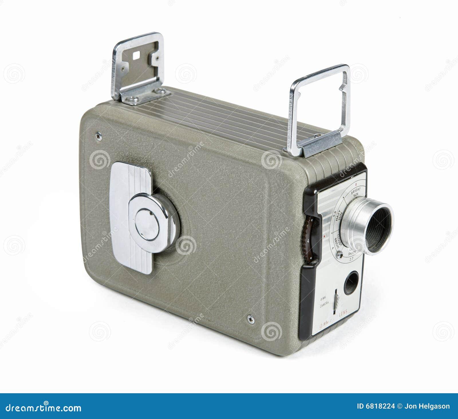 Retro 8mm camera