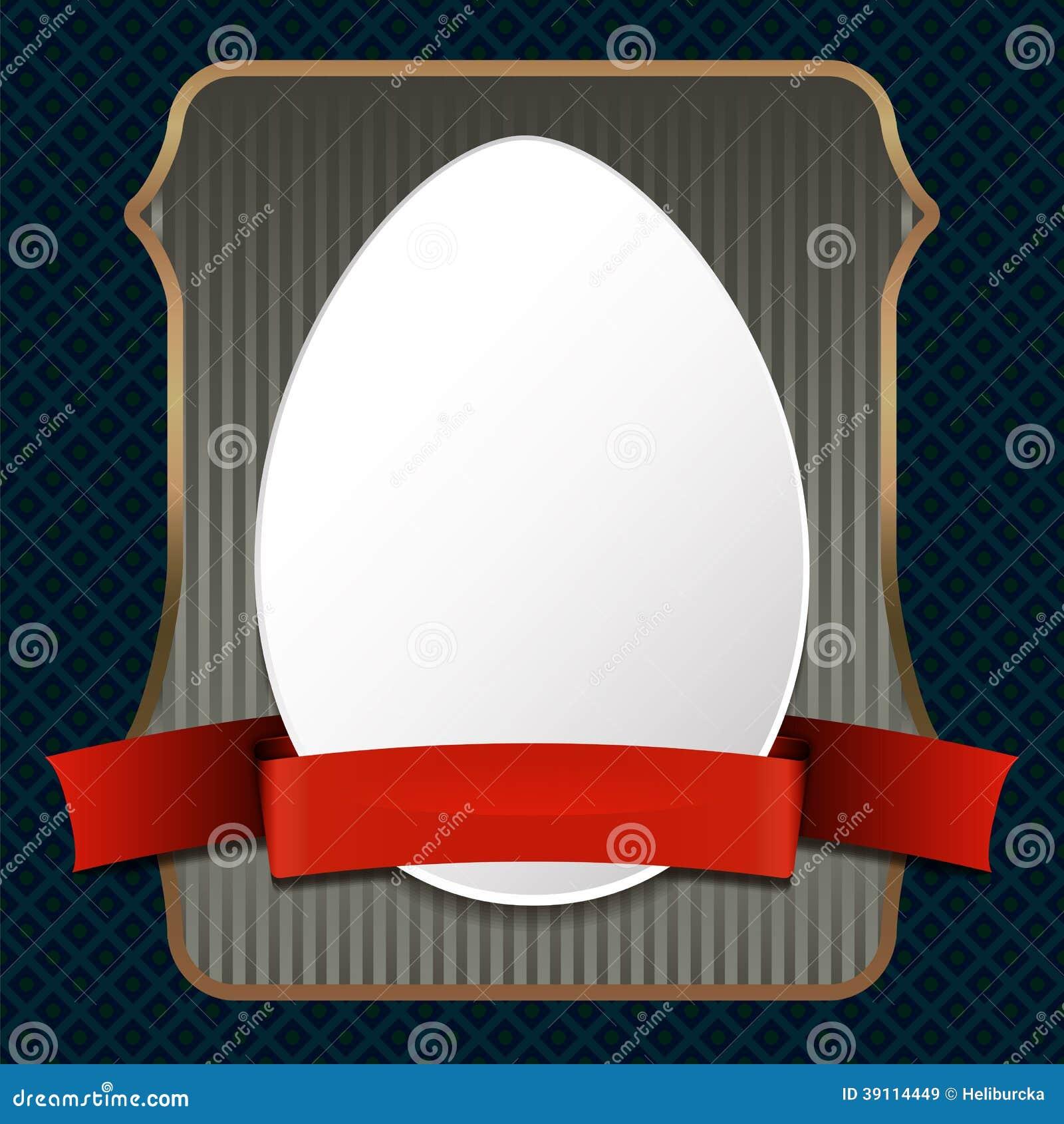 Retro achtergrond van Pasen