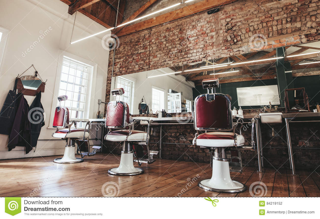 Retro friseursalon