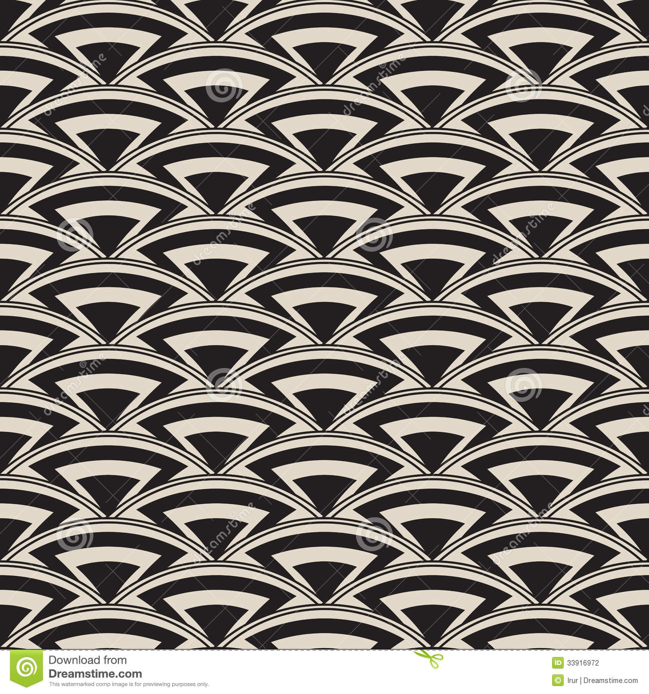 retro antique seamless pattern in art deco style stock vector image 33916972. Black Bedroom Furniture Sets. Home Design Ideas