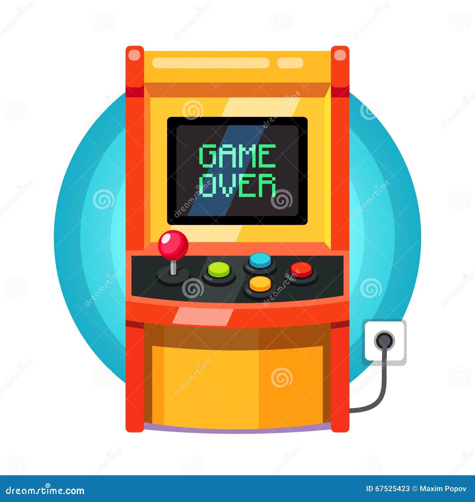arcade machine pixel