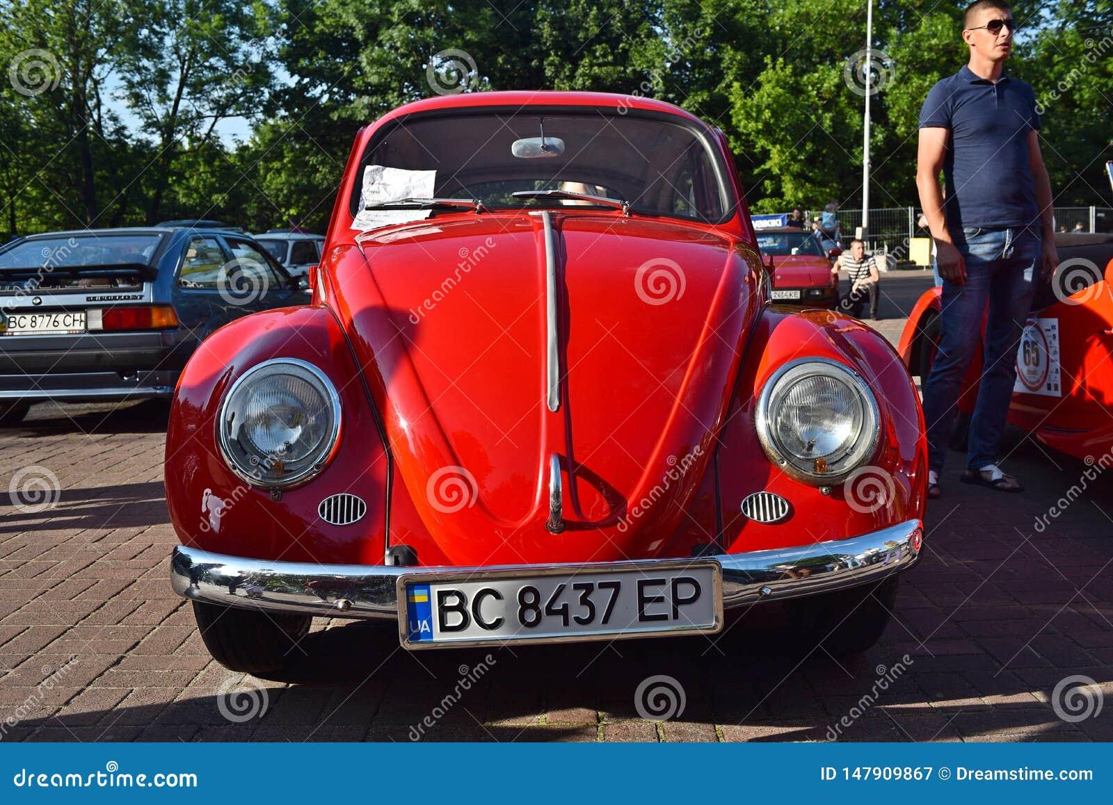 Retro- Autos in Lemberg
