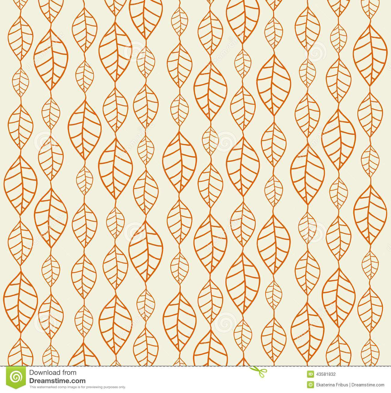 retro autumn leaves backgrounds stock vector image 43581832