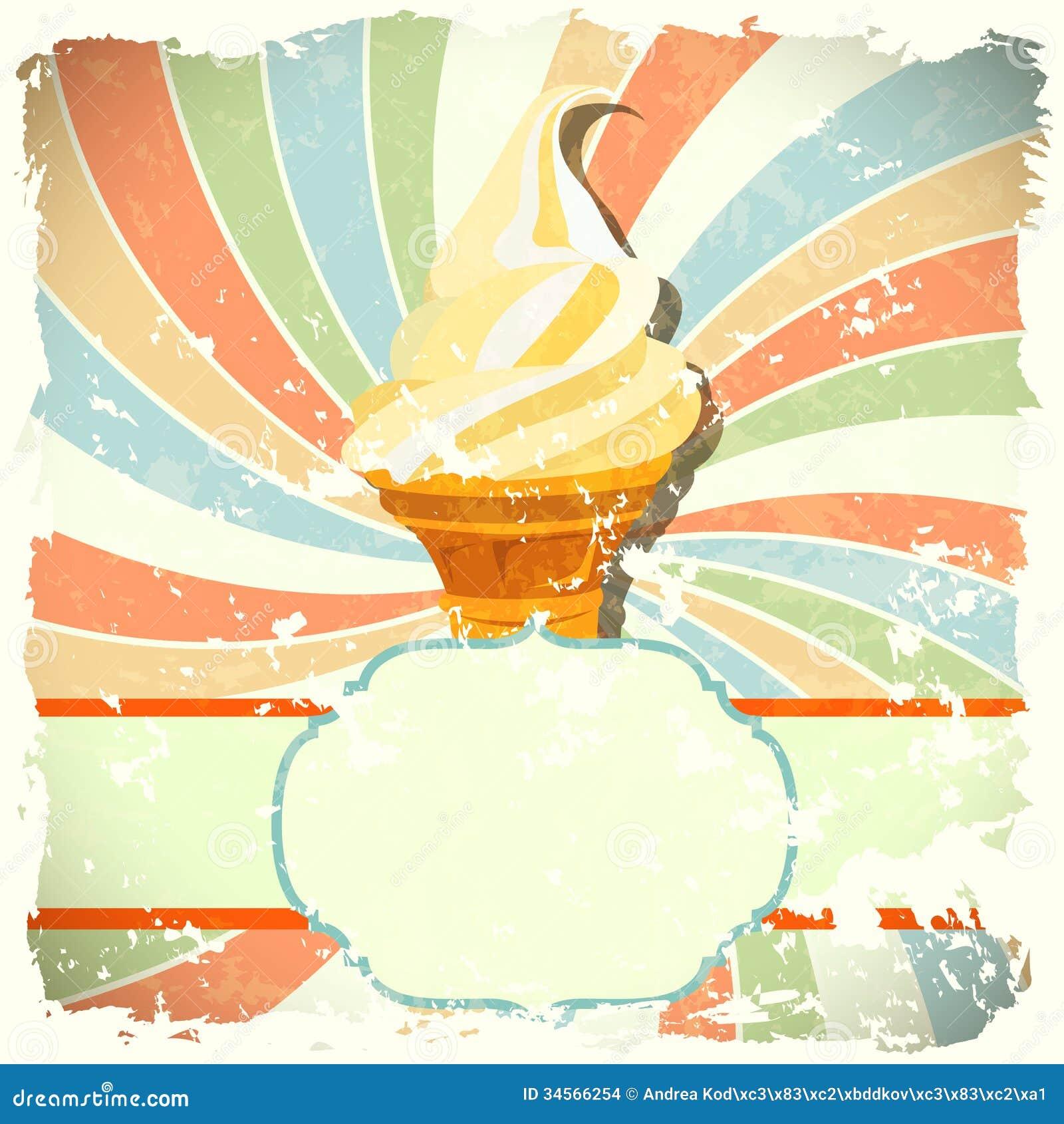 vintage ice cream wallpaper - photo #1