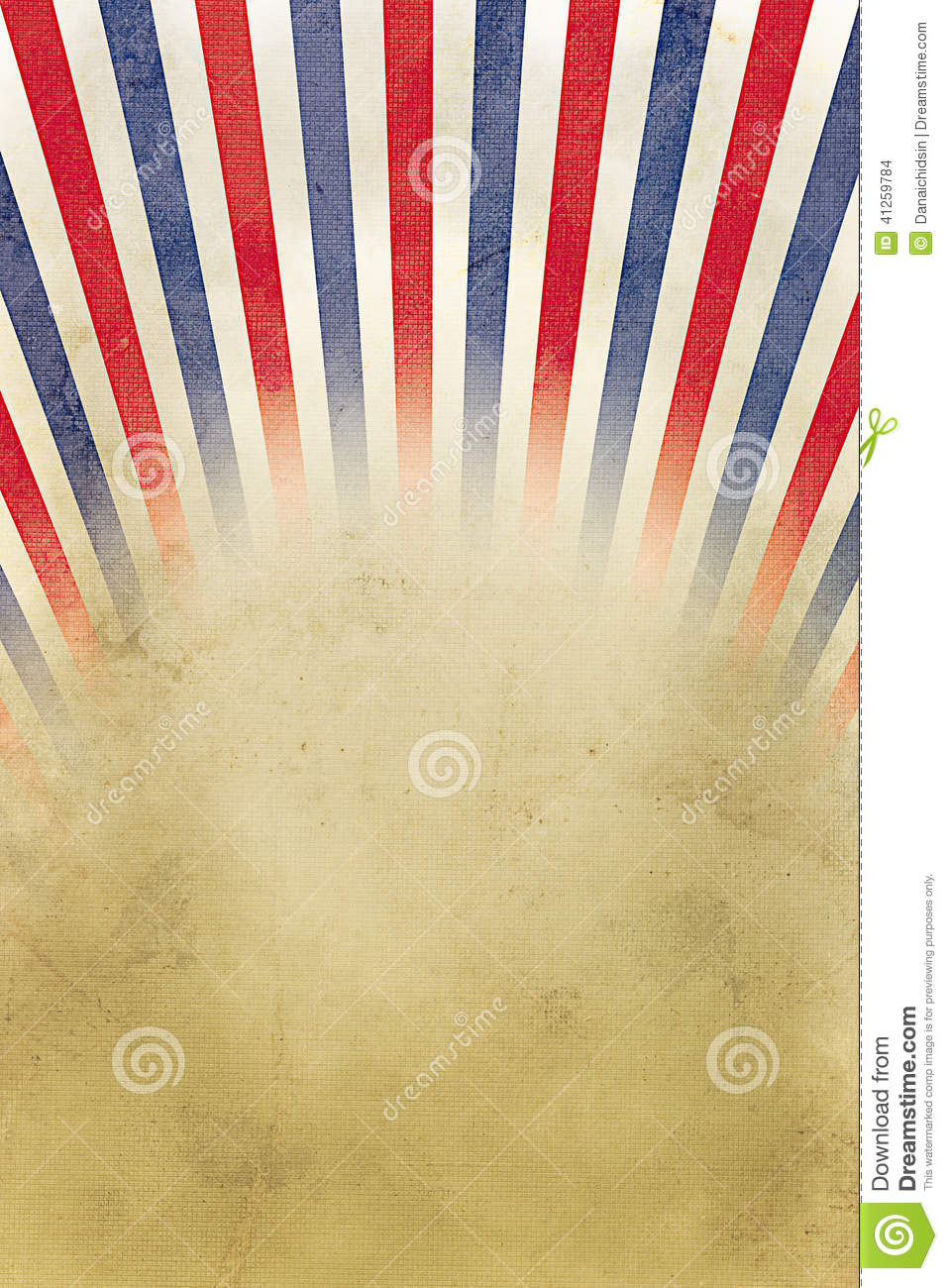 Retro Background Red, White And Blue Stripes Stock ...