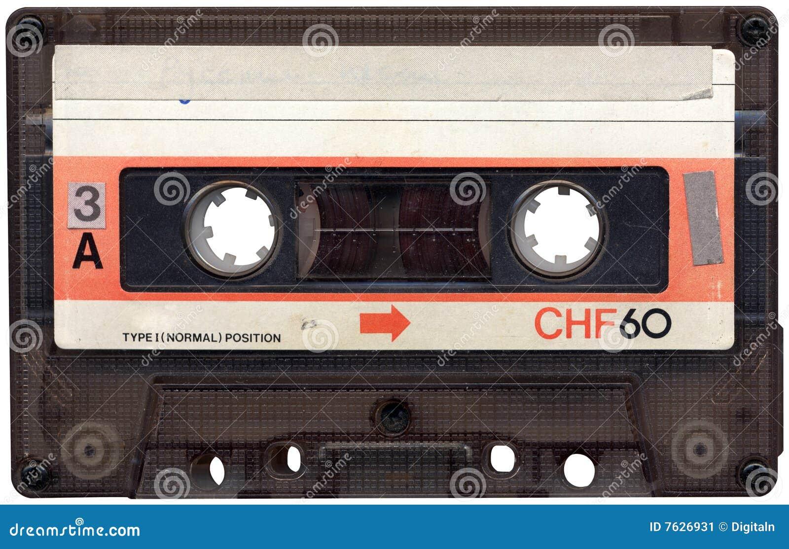 Retro Band van de Cassette