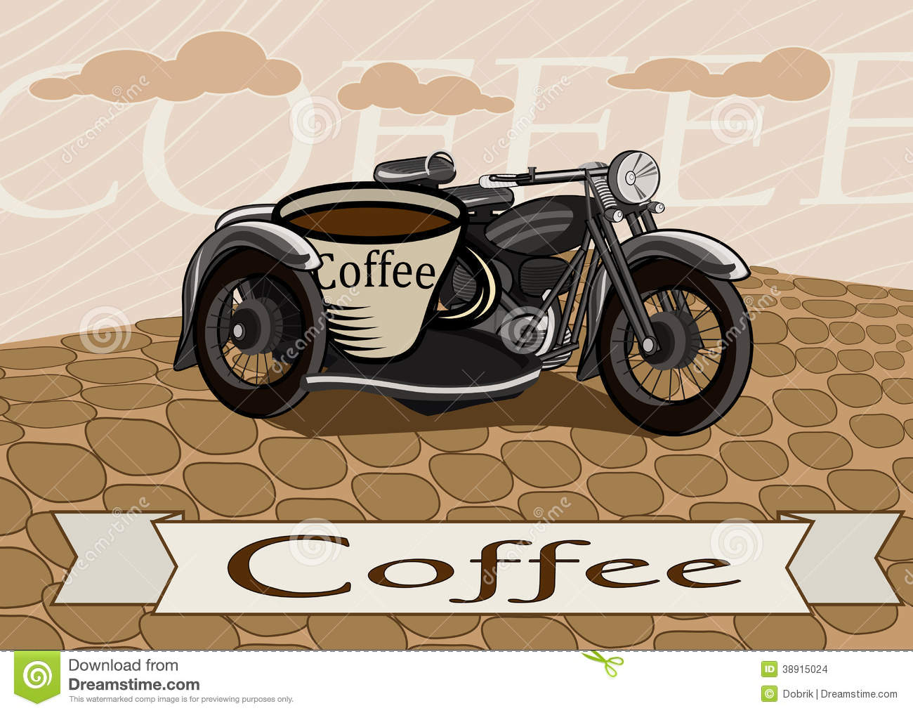 retro-banner-cup-coffee-motorcycle-resta