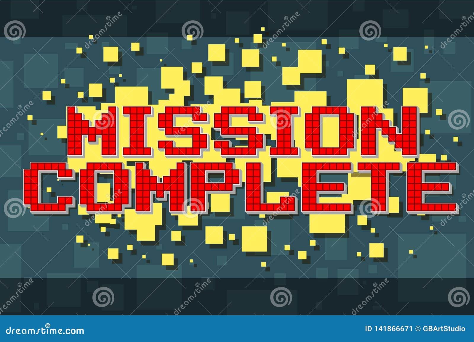 Retro beskickningknapp för rött PIXEL för videospel