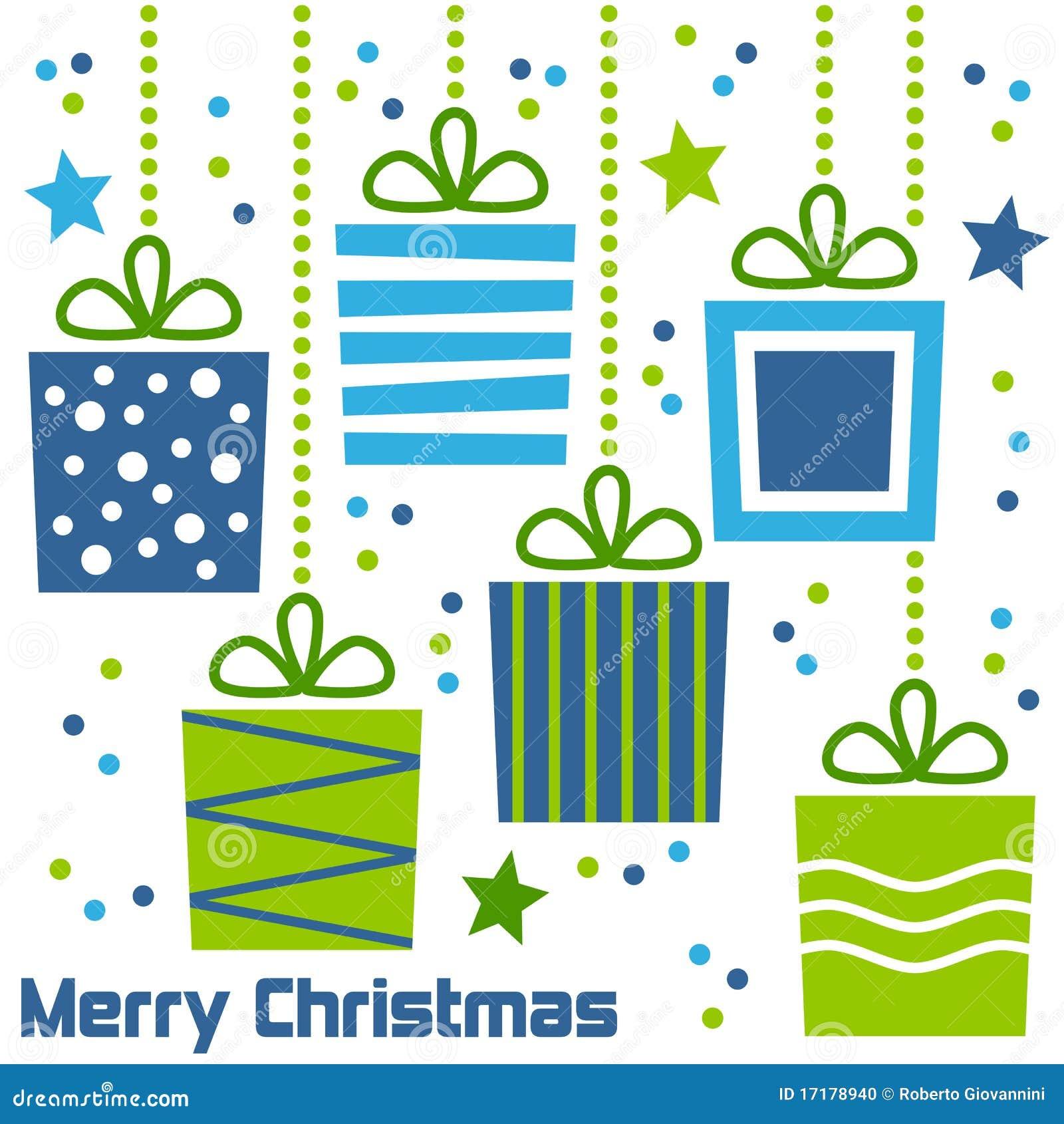 Retro Boże Narodzenie prezenty