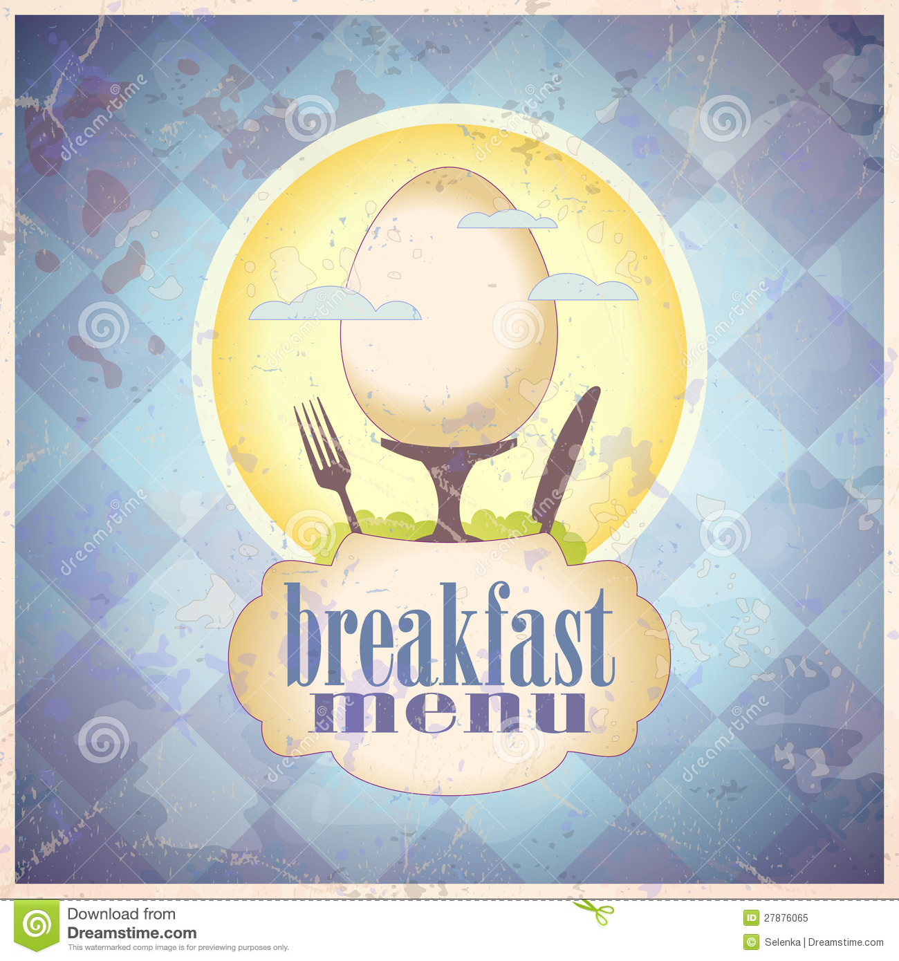Breakfast Menu Design Vector Image 48671232 – Breakfast Menu Template