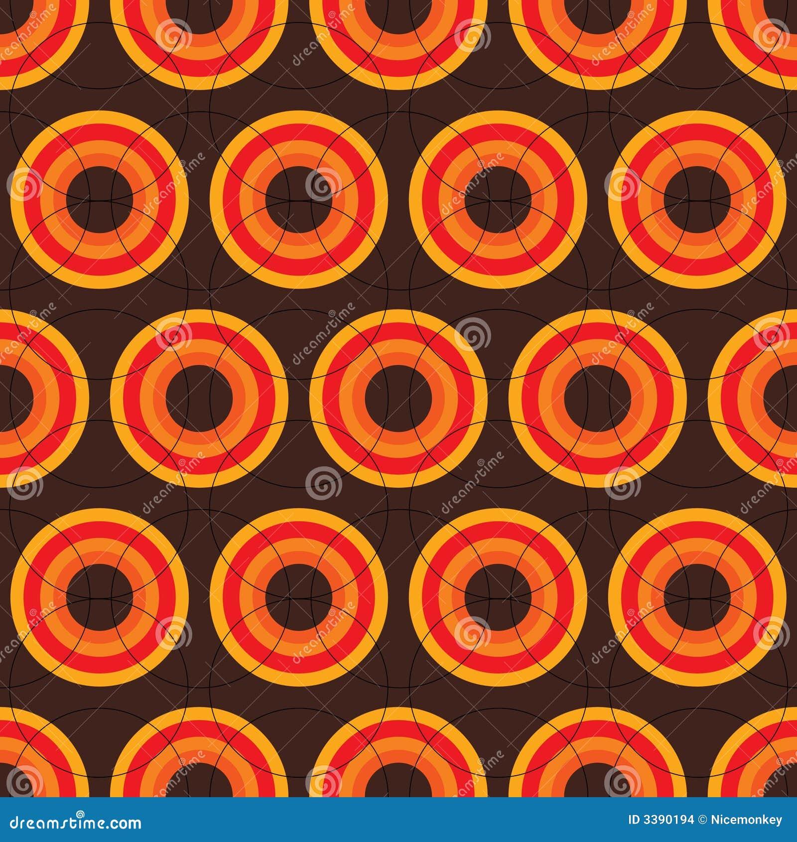Retro Bruin Van Jaren  u0026#39;60 Stock Afbeeldingen   Afbeelding  3390194