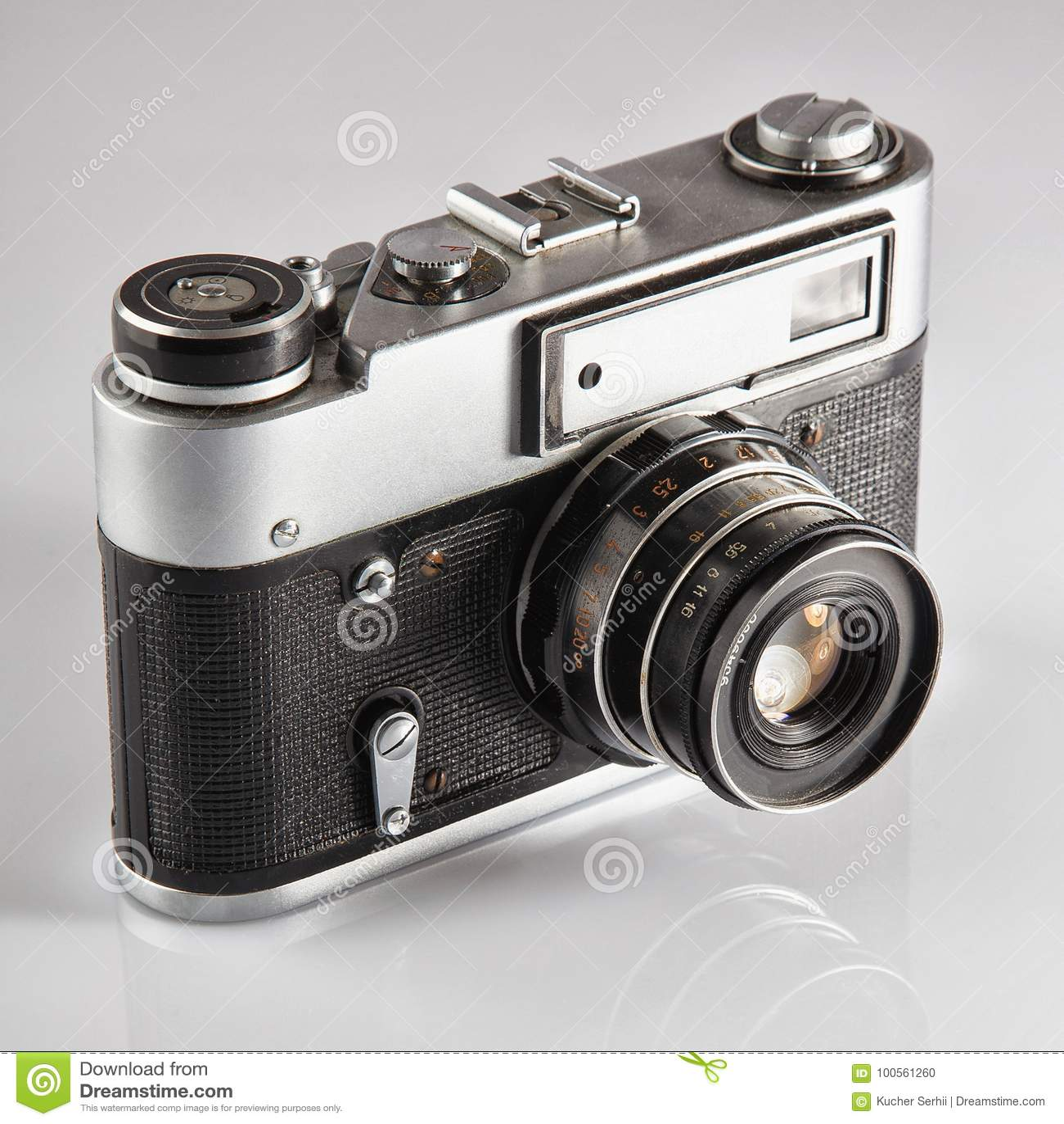 dc9debc1bb75e Retro Camera. Vintage Photocamera. Stock Photo - Image of closeup ...