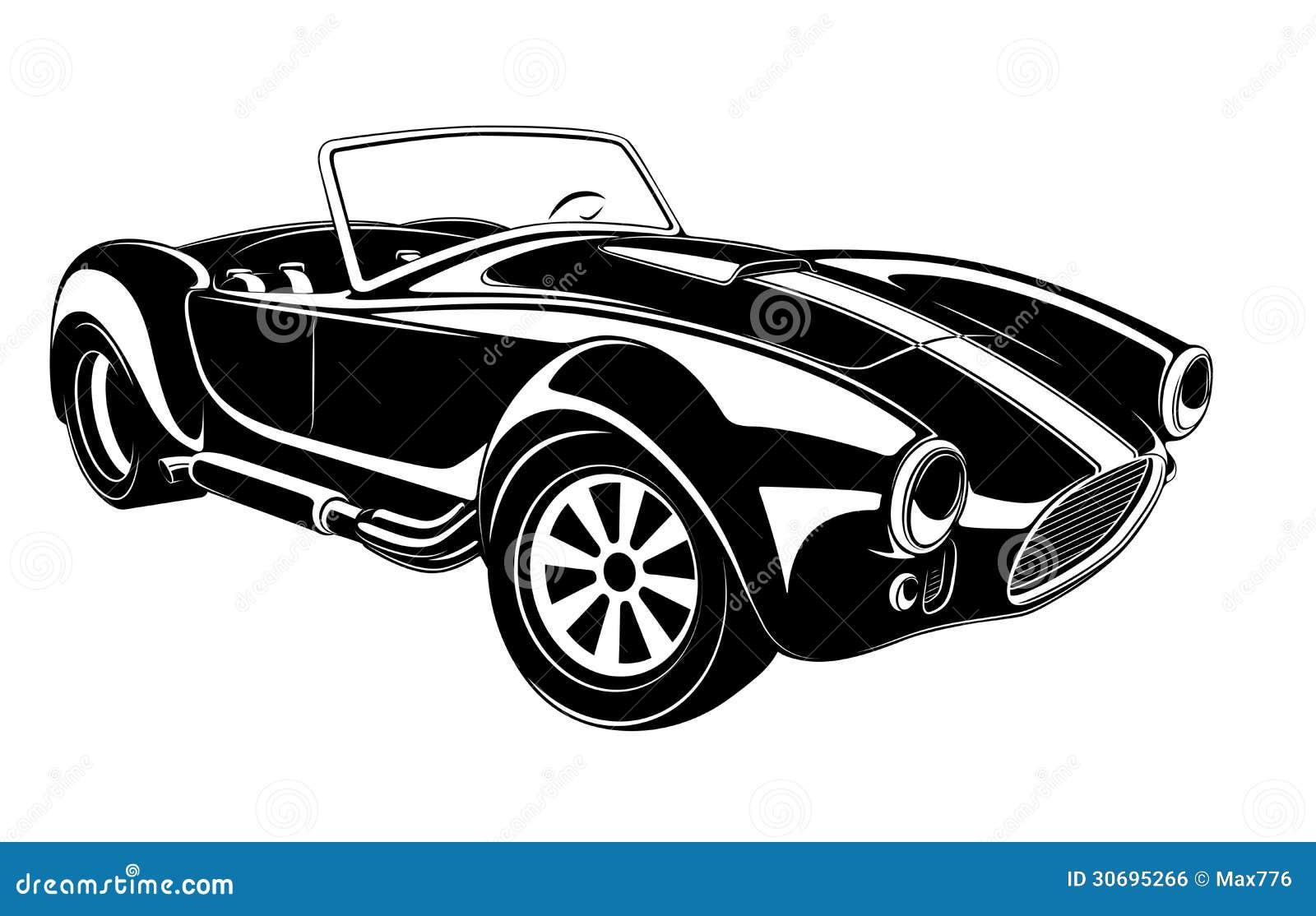 Retro Car Vector Royalty Free Stock Image Image 30695266