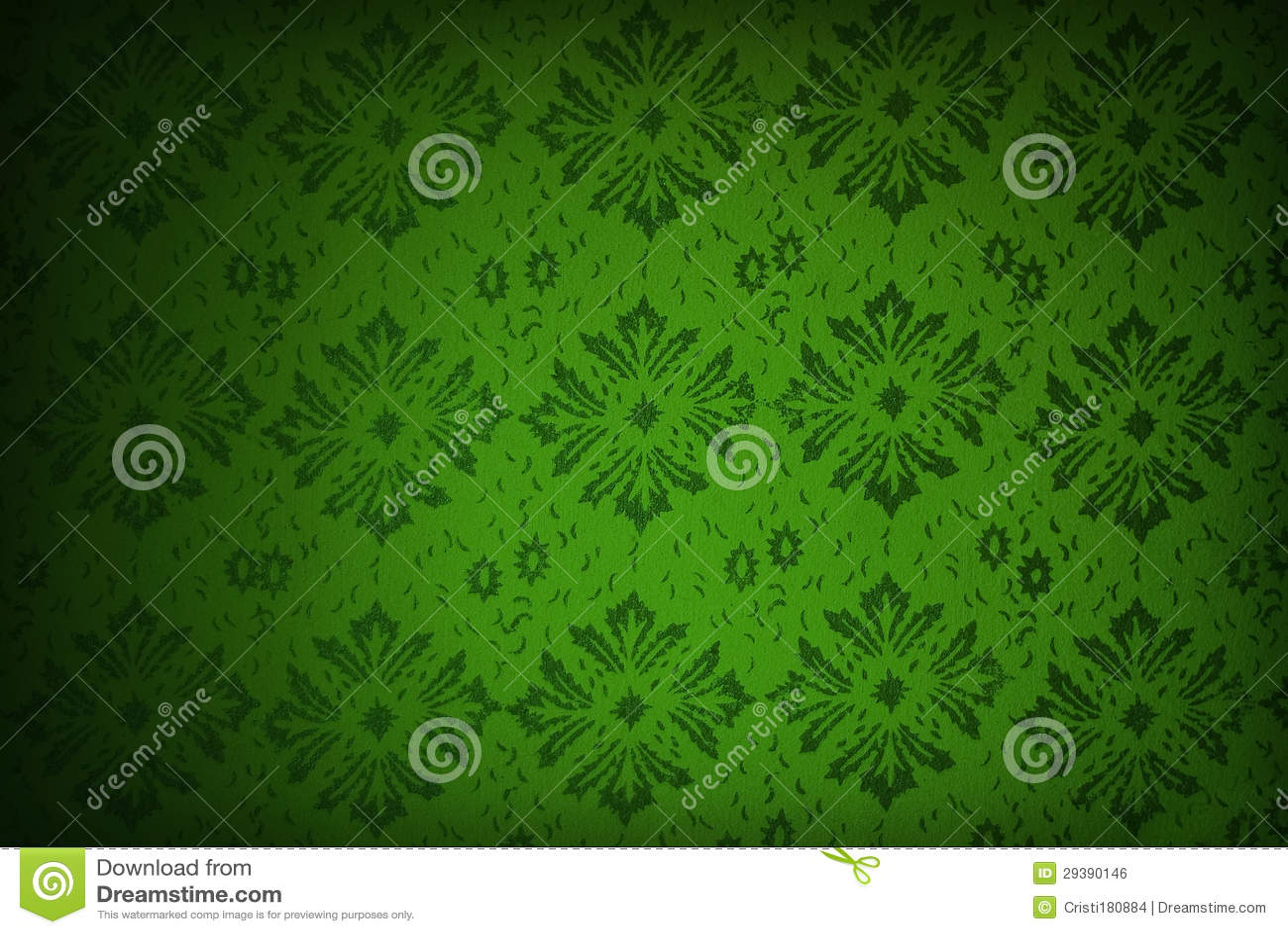 Carta da parati floreale verde immagini for Carta parati verde