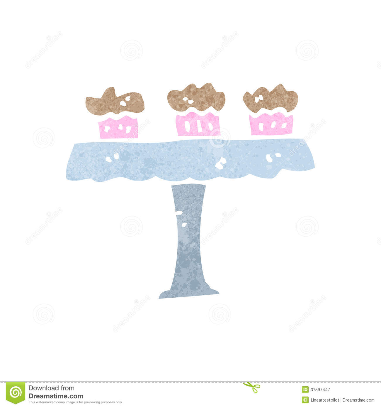Free Cake Stand Template