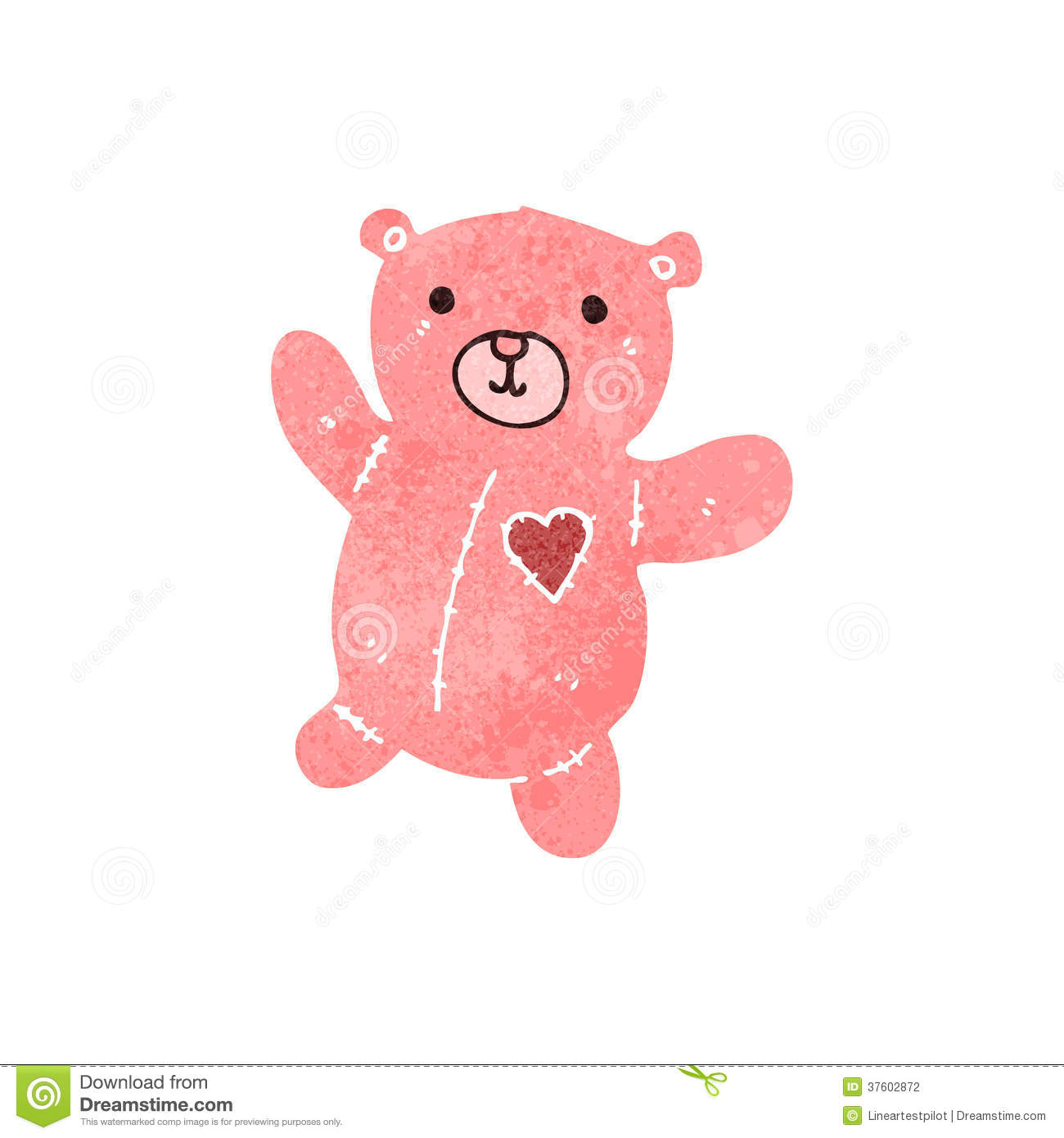 Pink Teddy Bear Stock Photos and Images