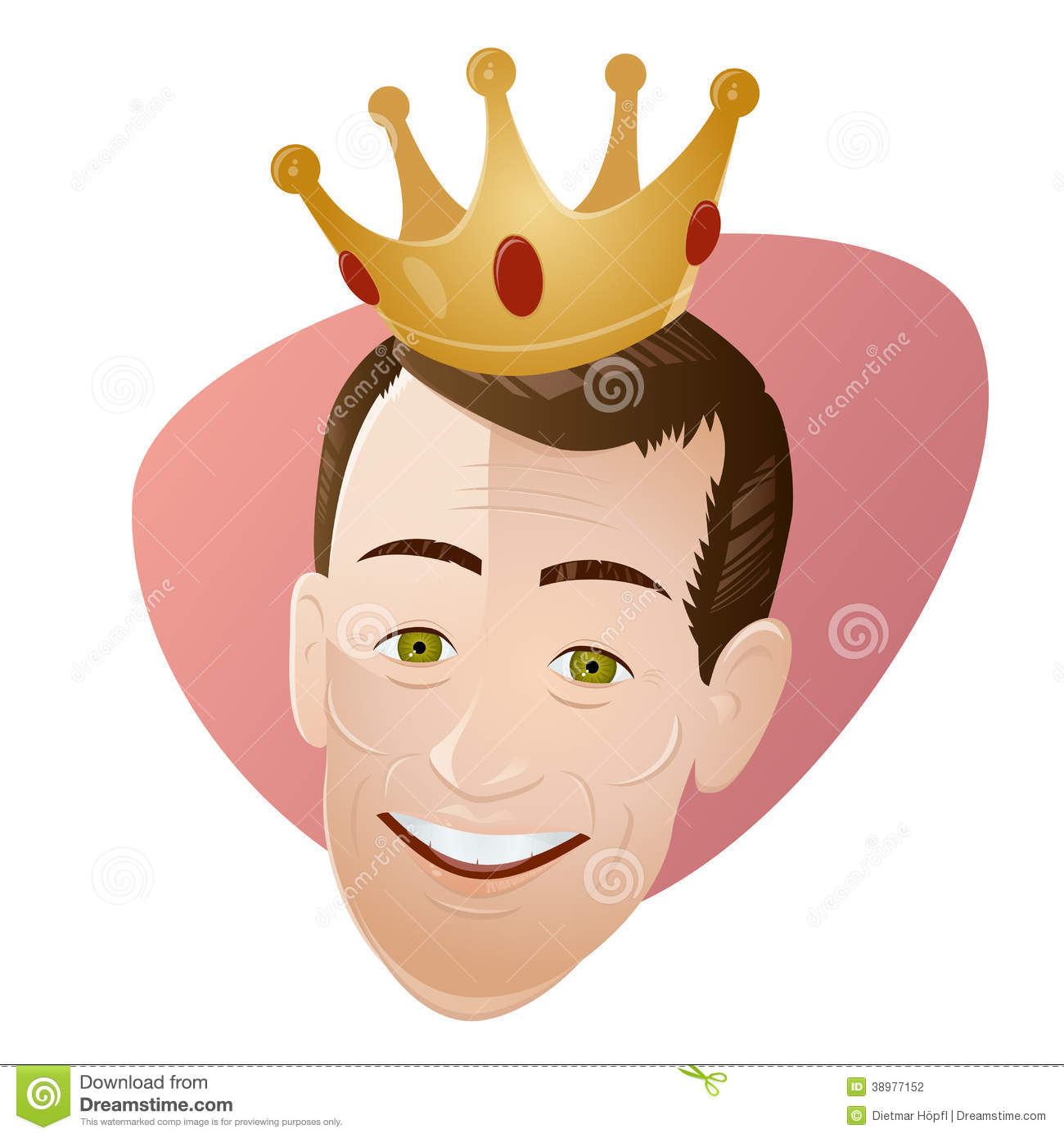 Retro Cartoon Man With A Crown Stock Vector Illustration Of Rich Amusing 38977152 Alibaba.com offers 595 cartoon crown designs products. dreamstime com