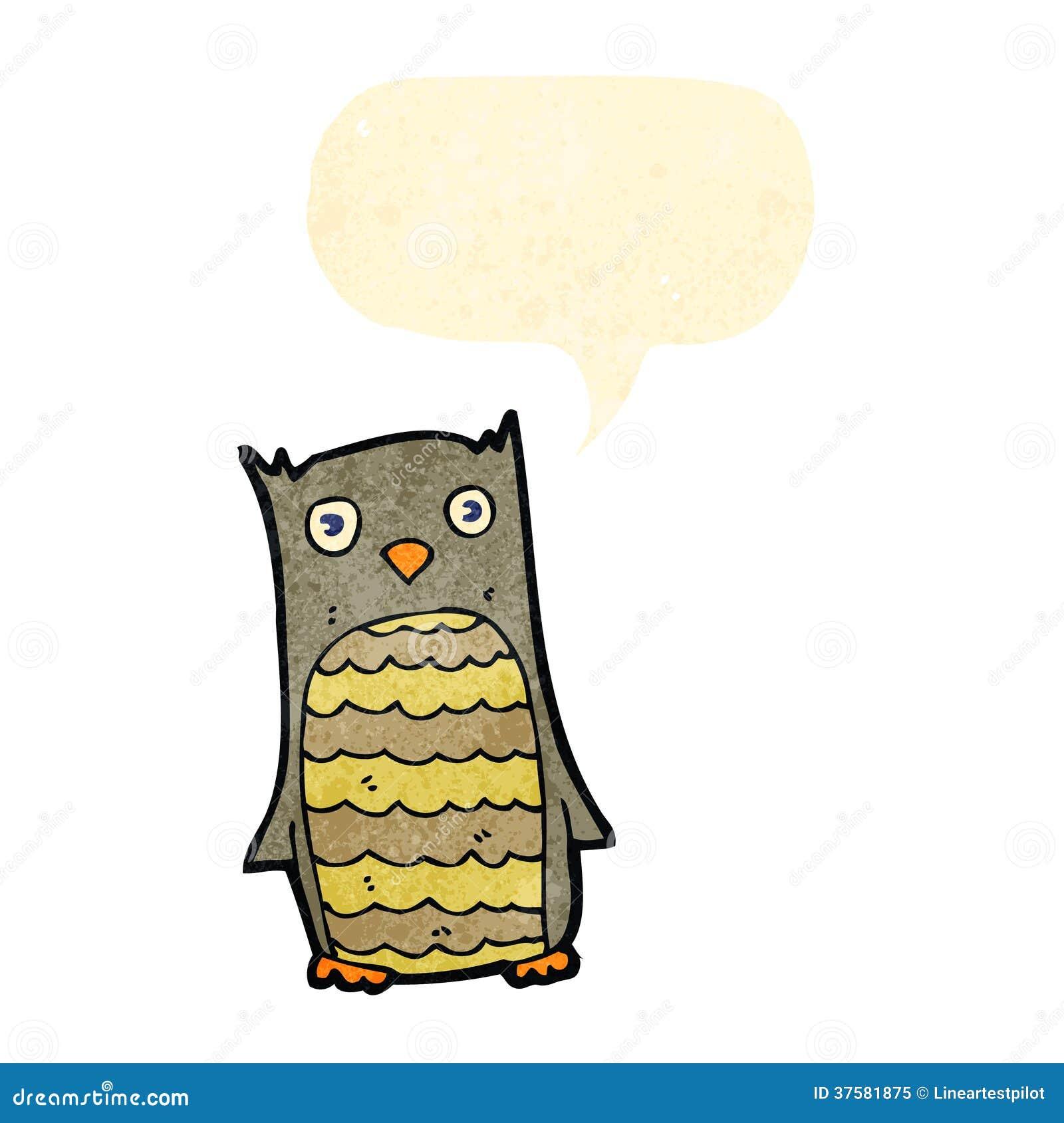 Retro owl cartoon - photo#7
