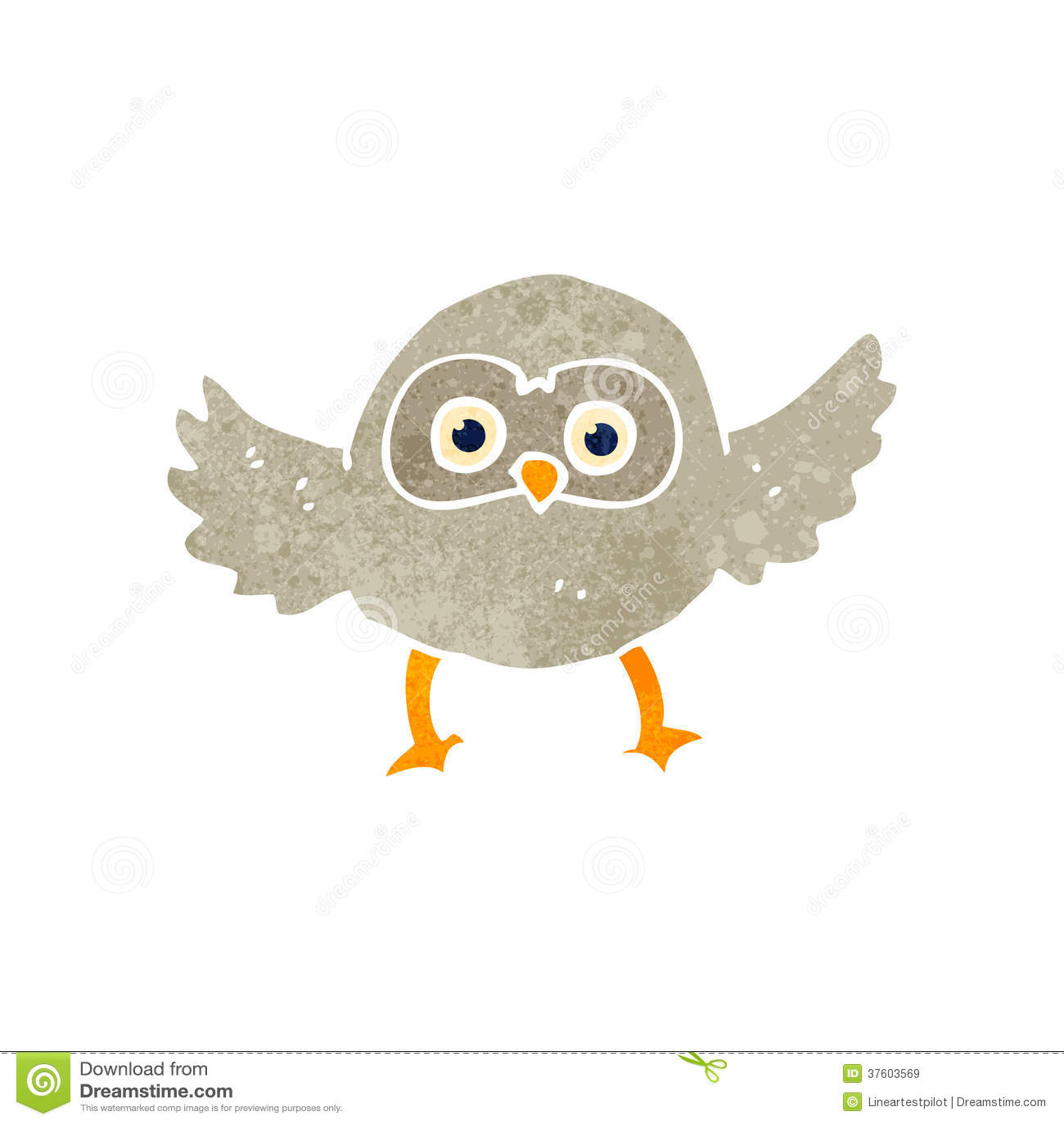 Retro owl cartoon - photo#22