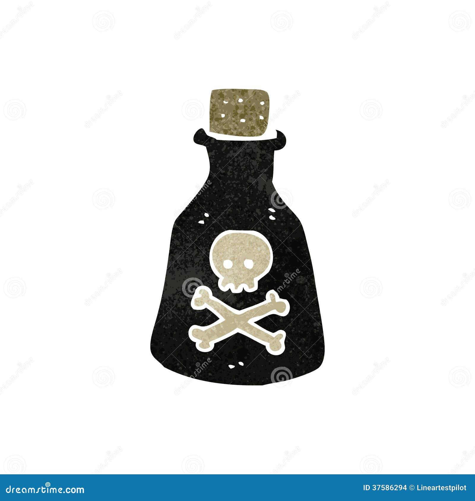 retro cartoon poison bottle stock images image 37586294 magic potion bottle clipart Potion Vials