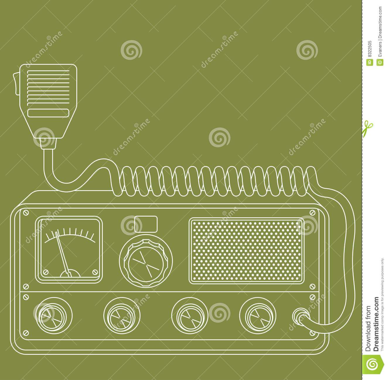 Retro cbradio
