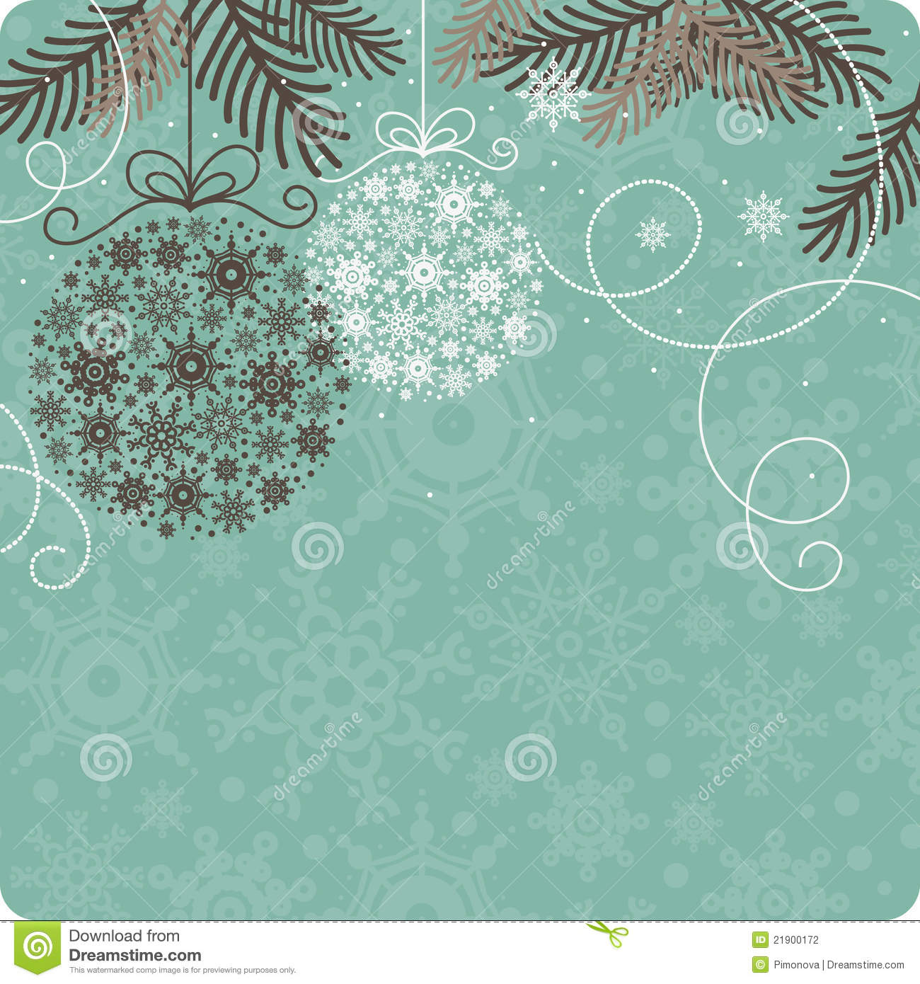 Retro Christmas Background Stock Photography - Image: 21900172