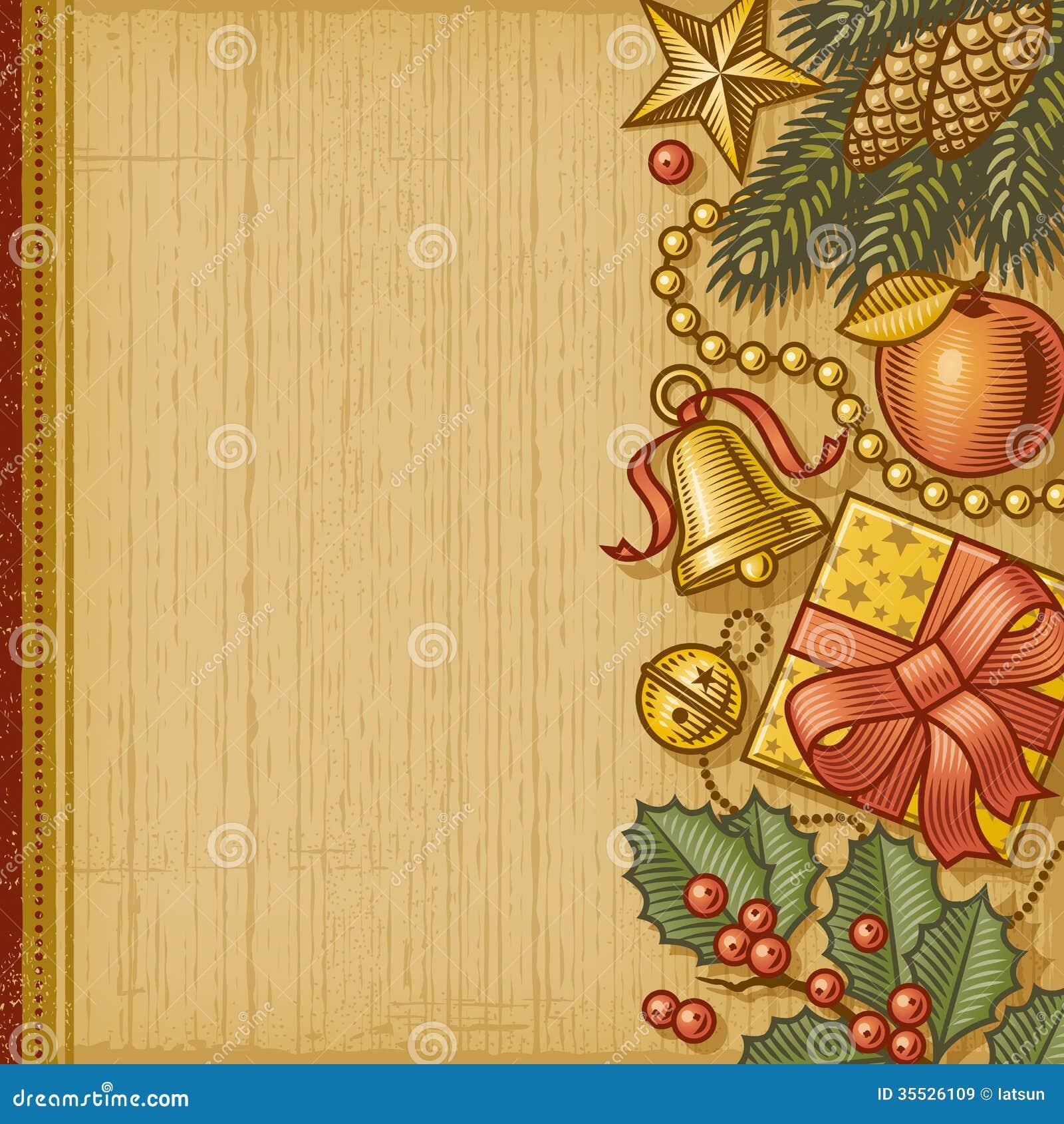 retro christmas background royalty free stock images