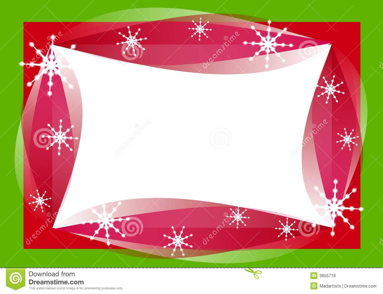 Retro Christmas Border Frame Royalty Free Stock Image - Image: 3655716