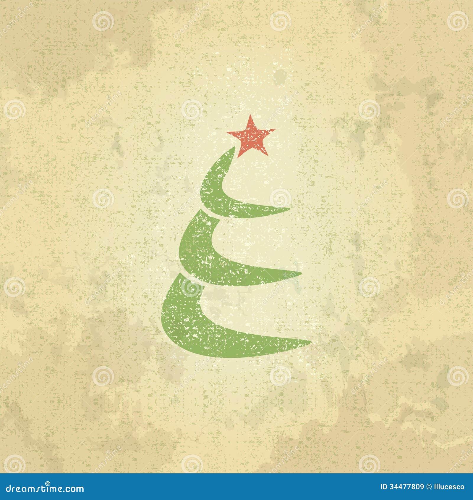 Retro Christmas Tree Royalty Free Stock Images - Image ...