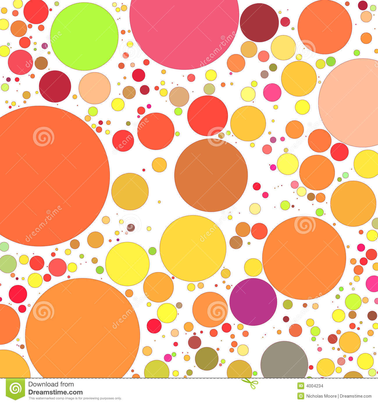 Retro circles background stock vector. Image of texture ... Retro Circles Background