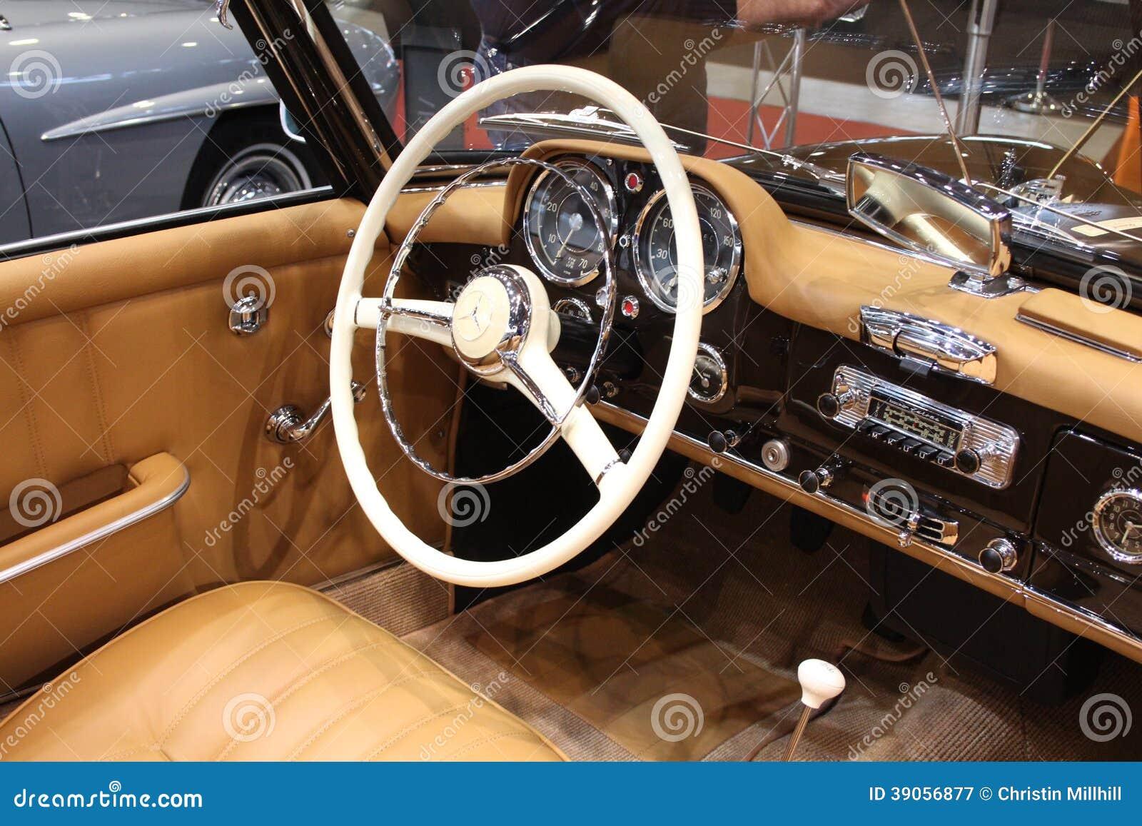 Retro Classics Exhibition - Old Mercedes Editorial Photography ...