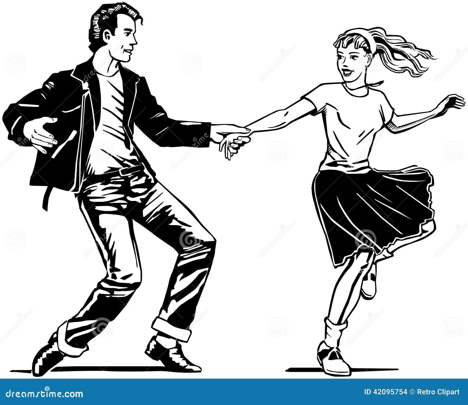 Retro dancing dell oscillazione